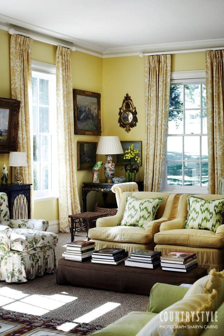 1675 Best Charming Chintz Chairs (And Sofas!) (And Some Drapes within Chintz Covered Sofas
