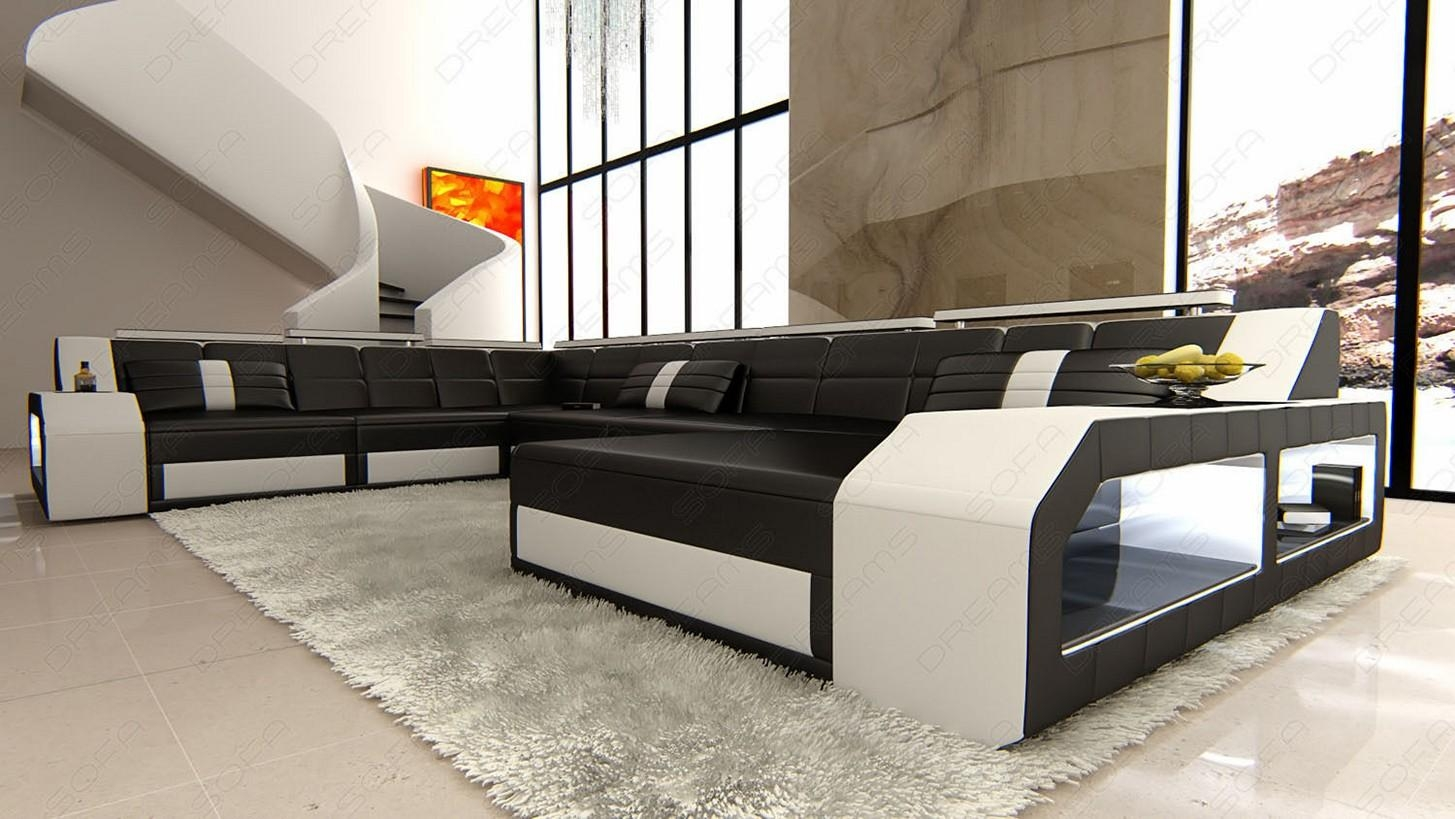 20 collection of sofas black and white colors sofa ideas - Black and white living room furniture ...