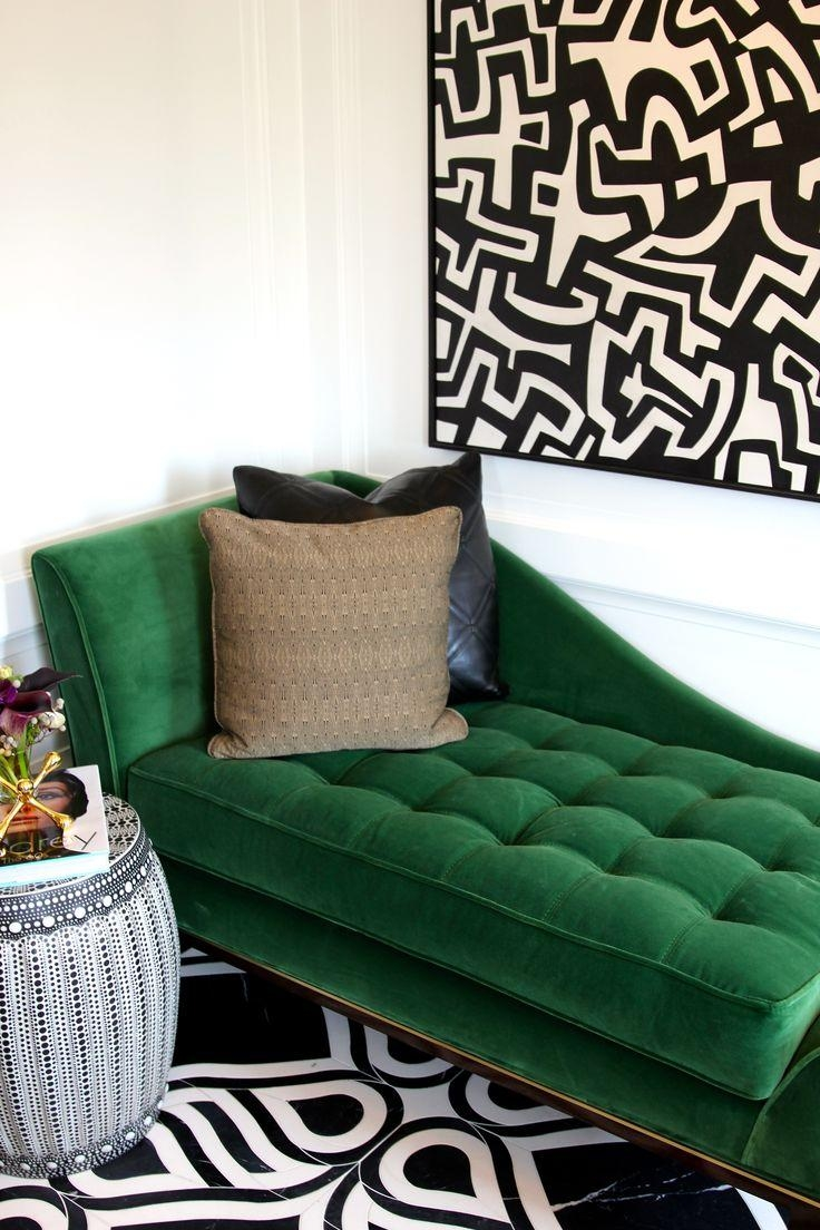 20 best ideas emerald green sofas sofa ideas for Green and black living room ideas