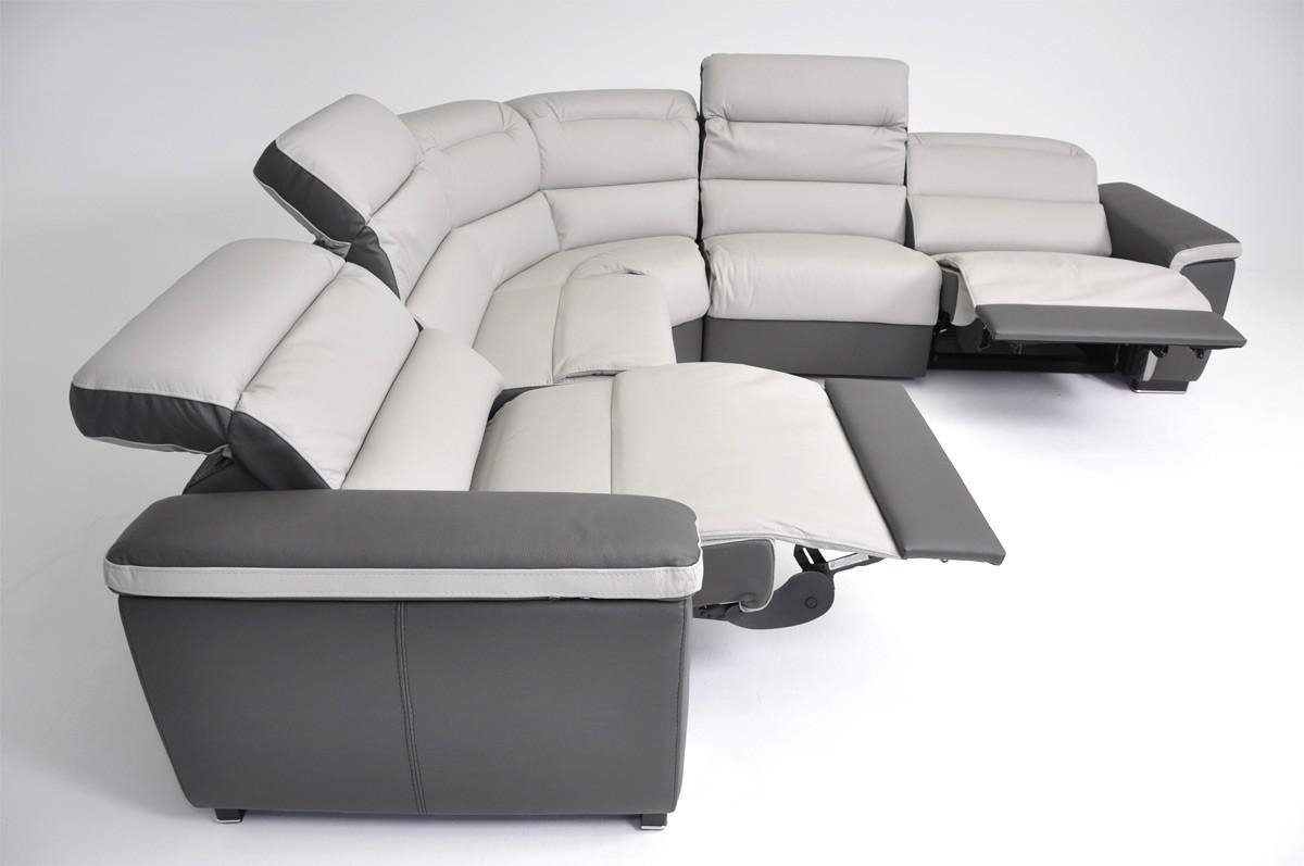 18 Italian Leather Reclining Sofa | Carehouse With Italian Recliner Sofas (Image 1 of 20)