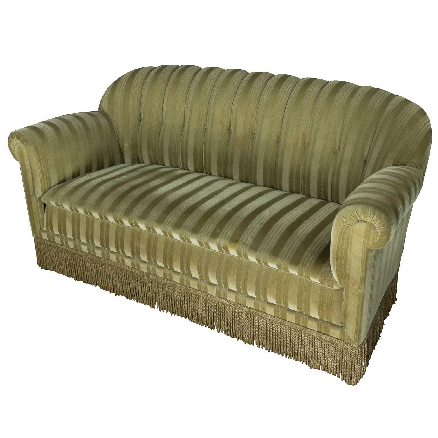 1930S Mohair Sofa At 1Stdibs Within 1930S Sofas (Image 5 of 20)