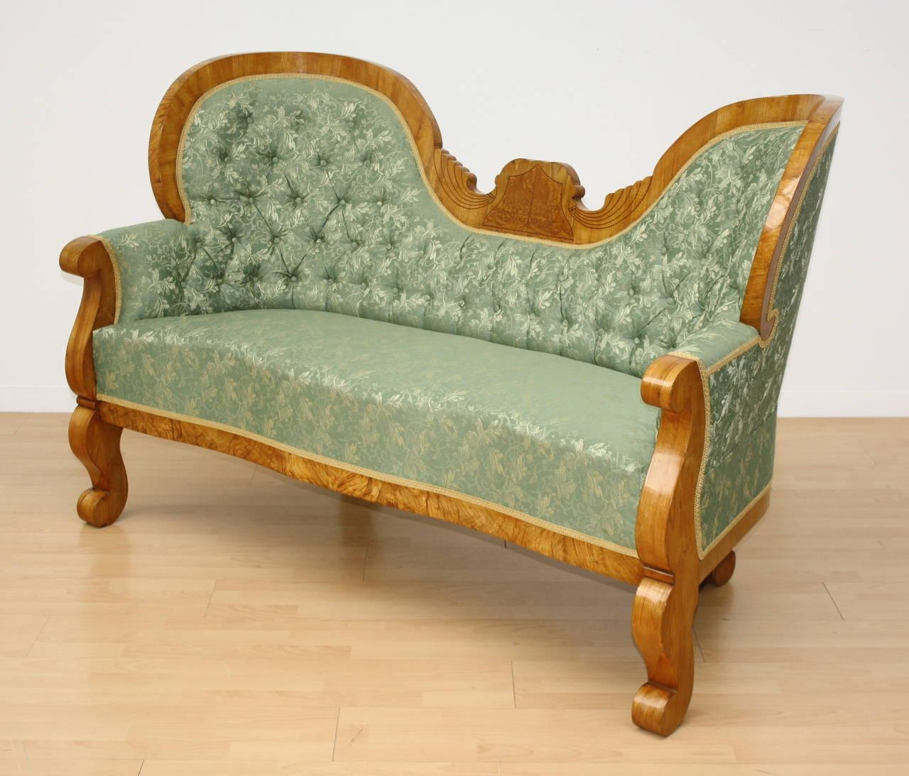 19Th Century Austrian Biedermeier Sofa For Sale At 1Stdibs Intended For Biedermeier Sofas (Image 1 of 20)