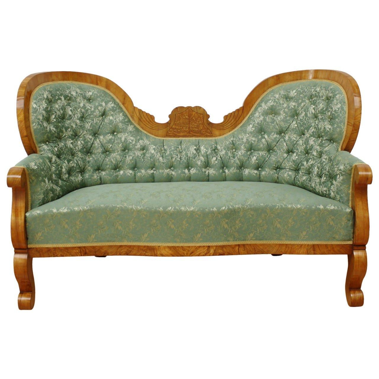 19Th Century Austrian Biedermeier Sofa For Sale At 1Stdibs With Regard To Biedermeier Sofas (View 1 of 20)