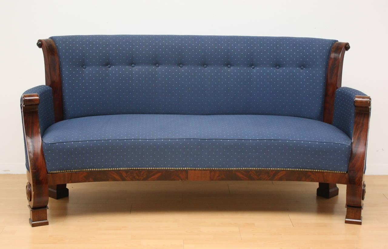 19Th Century Biedermeier Sofa For Sale At 1Stdibs In Biedermeier Sofas (Image 3 of 20)