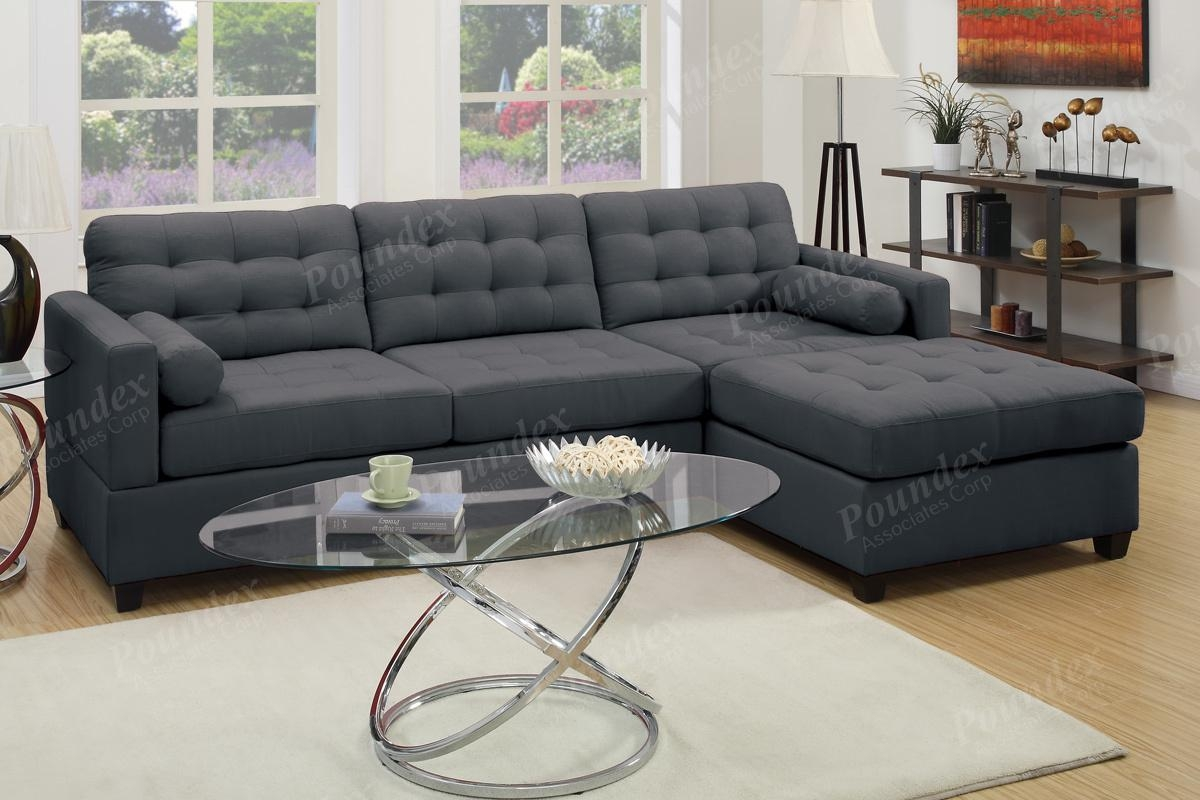 2-Pcs Sectional Sofa | Sectional Sofa | Bobkona Furniture with regard to Poundex Sofas
