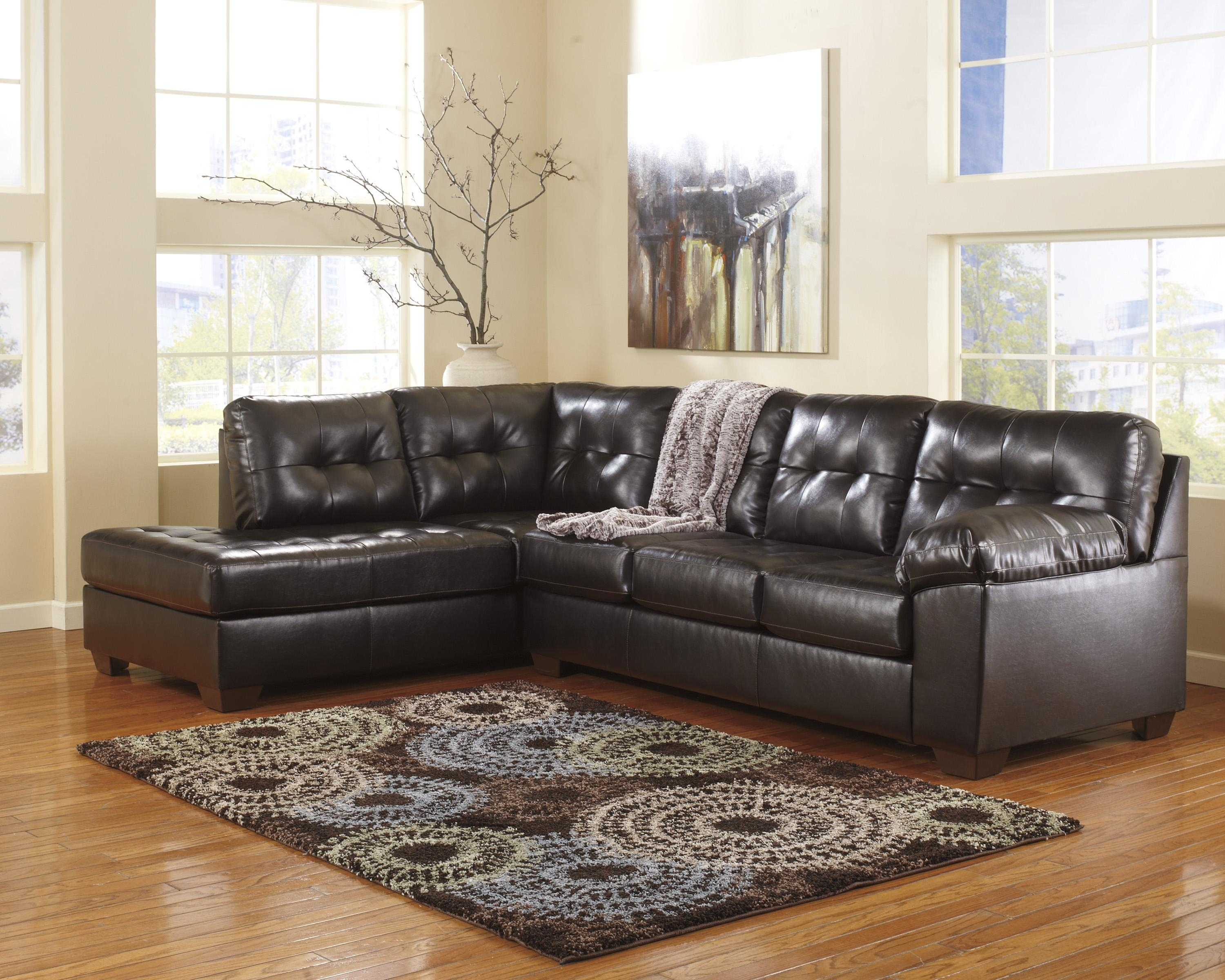 2 Piece Sectional Sofa Ashley | Tehranmix Decoration Regarding Ashley Furniture Leather Sectional Sofas (Image 1 of 20)