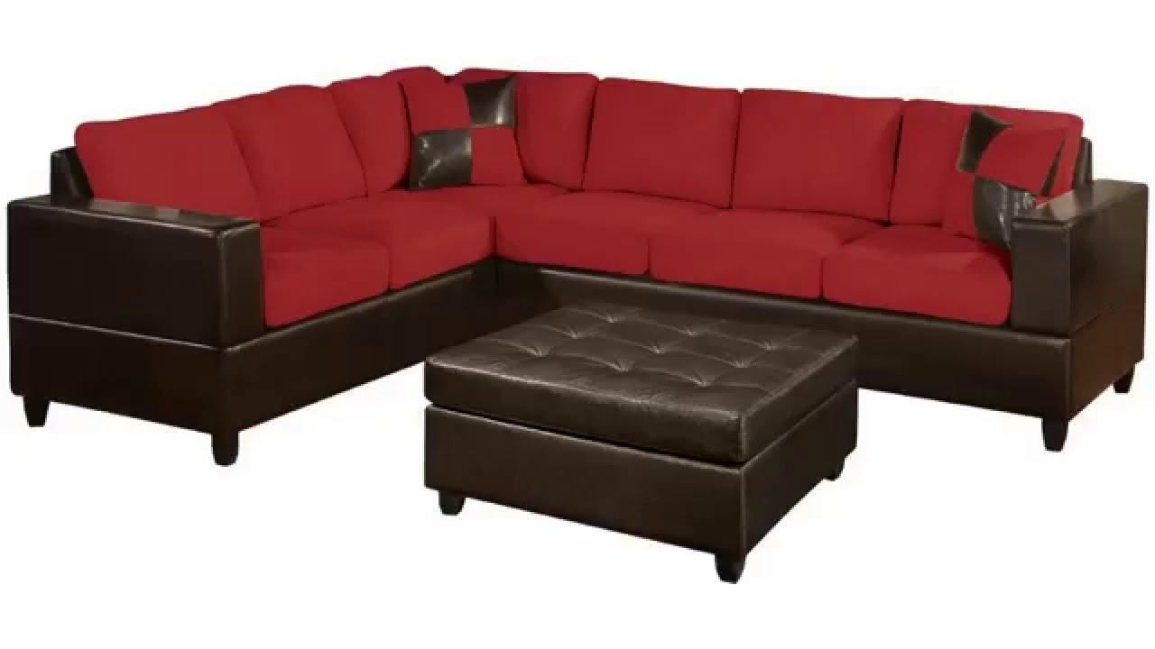 2 Piece Sectional Sofa Leather | Tehranmix Decoration within Small 2 Piece Sectional