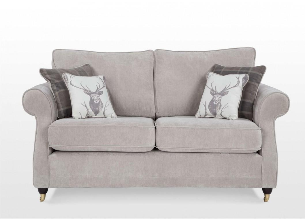2 Seater Fabric High Back Sofa – Dorchester Regarding High Back Sofas And Chairs (Image 1 of 20)