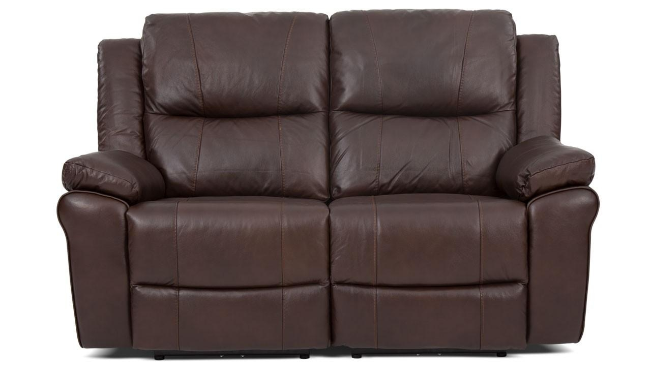 2 Seater Manual Recliner Sofa From The Derby Range | Ahf Furniture Within 2 Seat Recliner Sofas (Image 3 of 20)