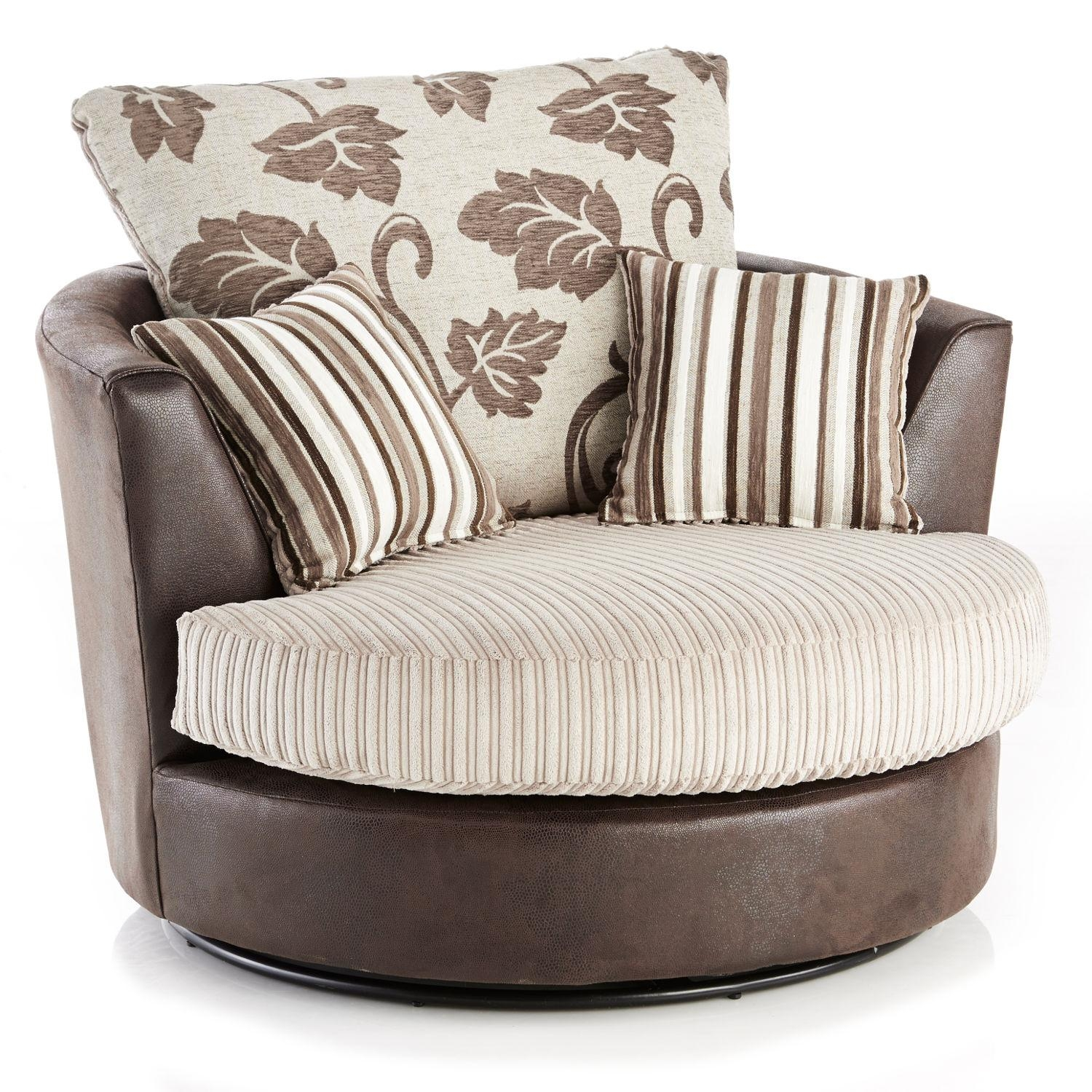 2 Seater Sofa And Swivel Chair – Webforfreaks Within Cuddler Swivel Sofa Chairs (Image 1 of 20)