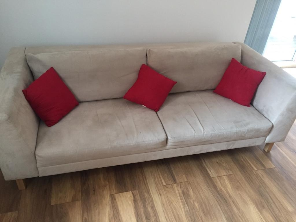2 X Three Seater Ikea Sofas | In Manchester City Centre Pertaining To Manchester Sofas (