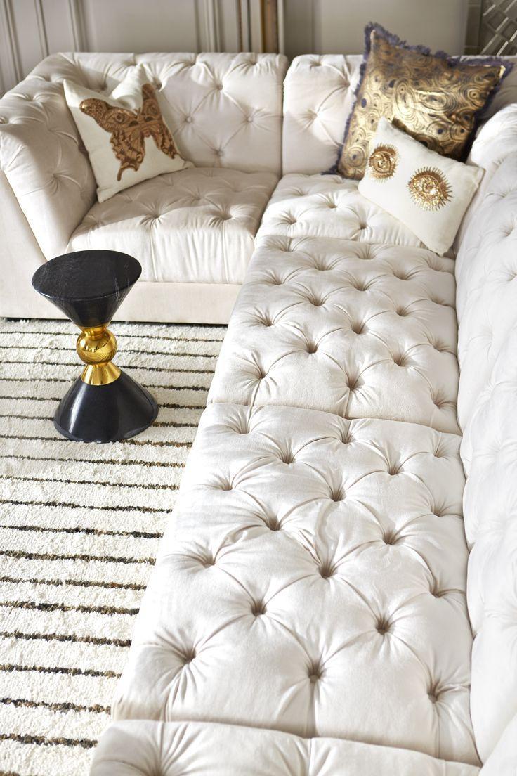 202 Best Living Rooms Images On Pinterest | Jonathan Adler, Design Pertaining To Jonathan Sofa (Image 1 of 20)