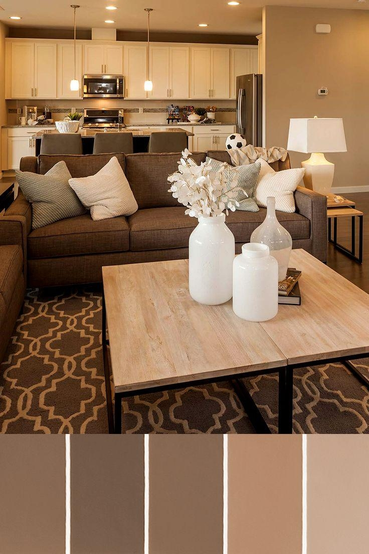 25+ Best Brown Couch Decor Ideas On Pinterest | Living Room Brown Regarding Brown Sofa Decors (Image 1 of 20)