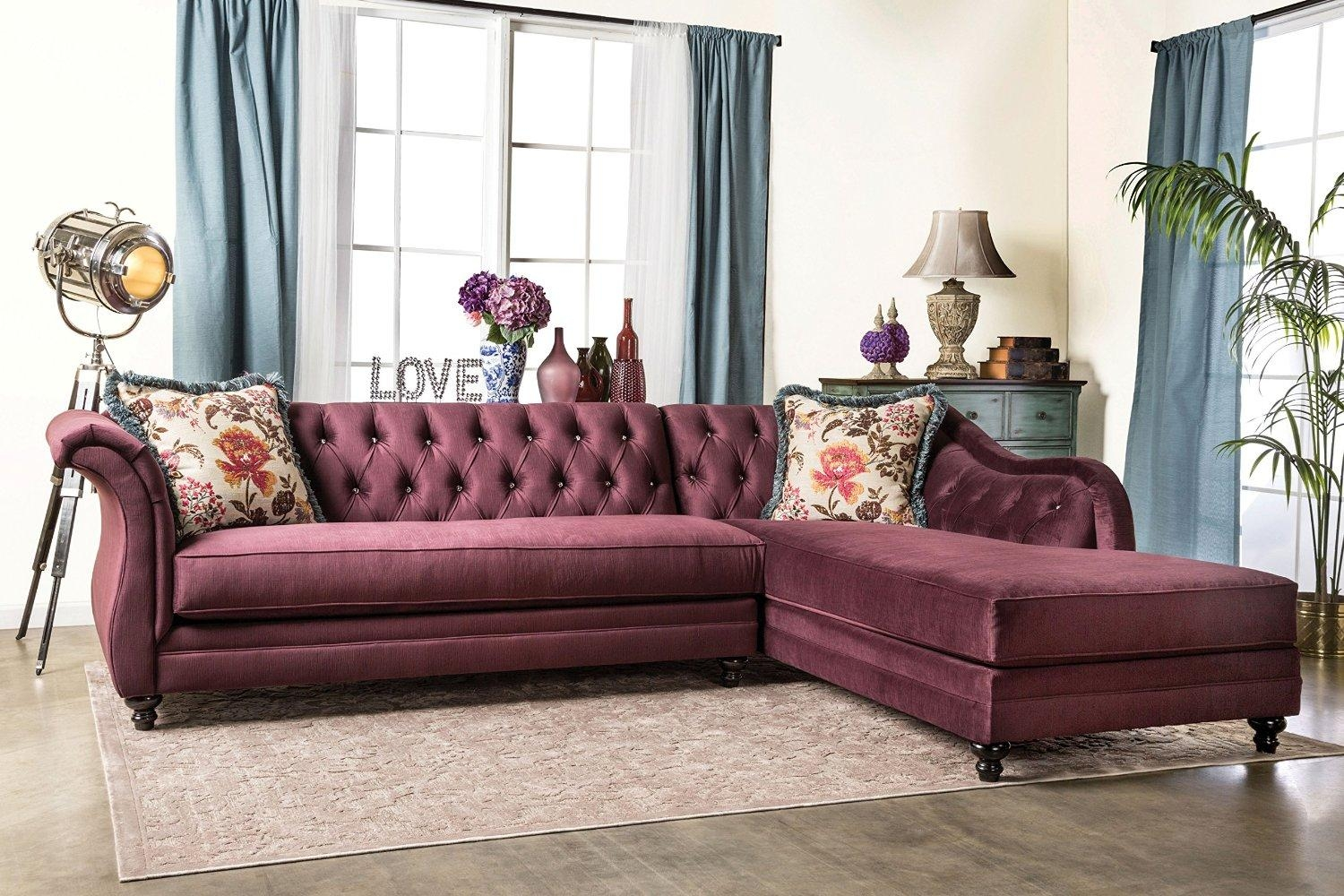 25 Best Chesterfield Sofas To Buy In 2017 in Purple Chesterfield Sofas