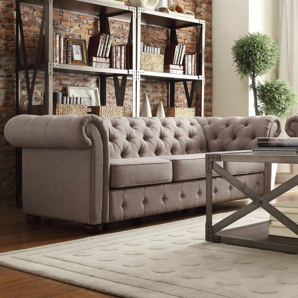 25 Best Chesterfield Sofas To Buy In 2017 Pertaining To Tufted Leather Chesterfield Sofas (Image 7 of 20)