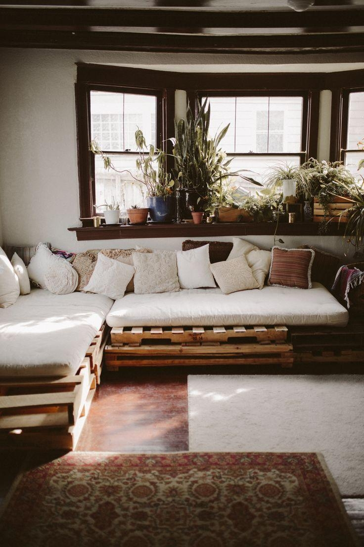 25+ Best Pallet Couch Ideas On Pinterest | Pallet Sofa, Pallet Intended For Pallet Sofas (View 15 of 20)