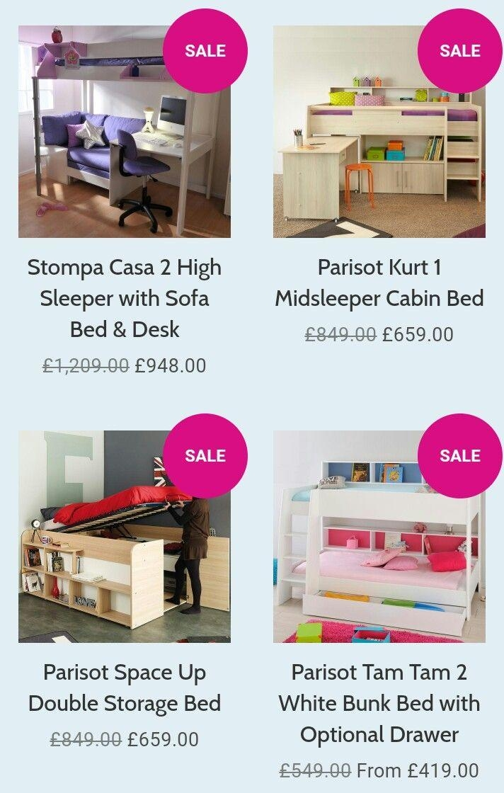 26 Best Highsleeper Loft Beds Images On Pinterest | Loft Beds In High Sleeper With Desk And Sofa Bed (Image 2 of 20)