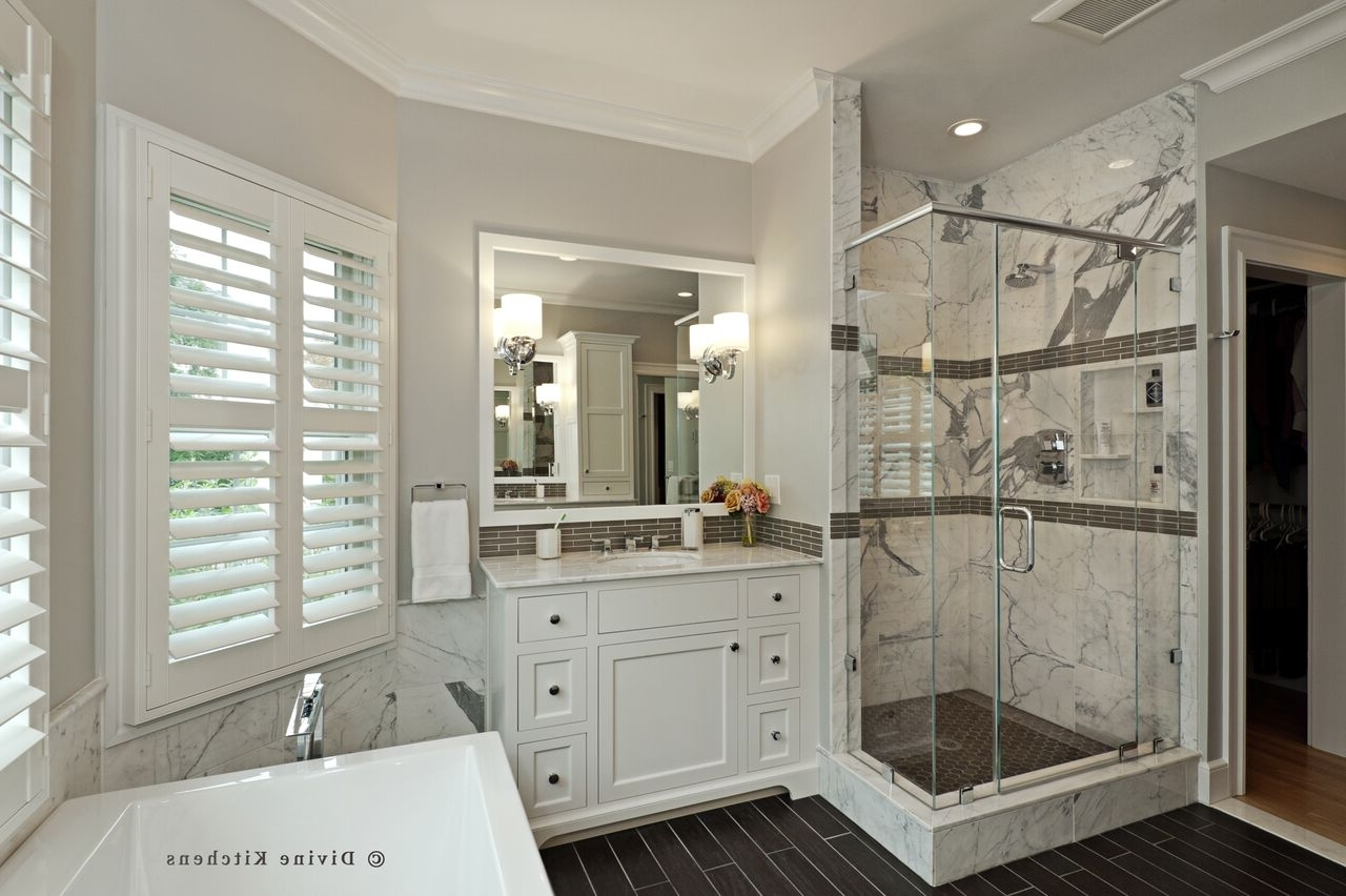 3 Bathroom Remodels, 3 Budgets: Part 2 With Bathroom Remodel (View 19 of 33)