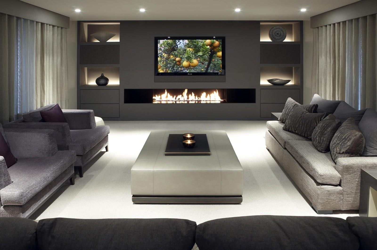 3 Media Room Ideas That Will Suit You | Luhomes In Media Room Sectional (Photo 15 of 20)