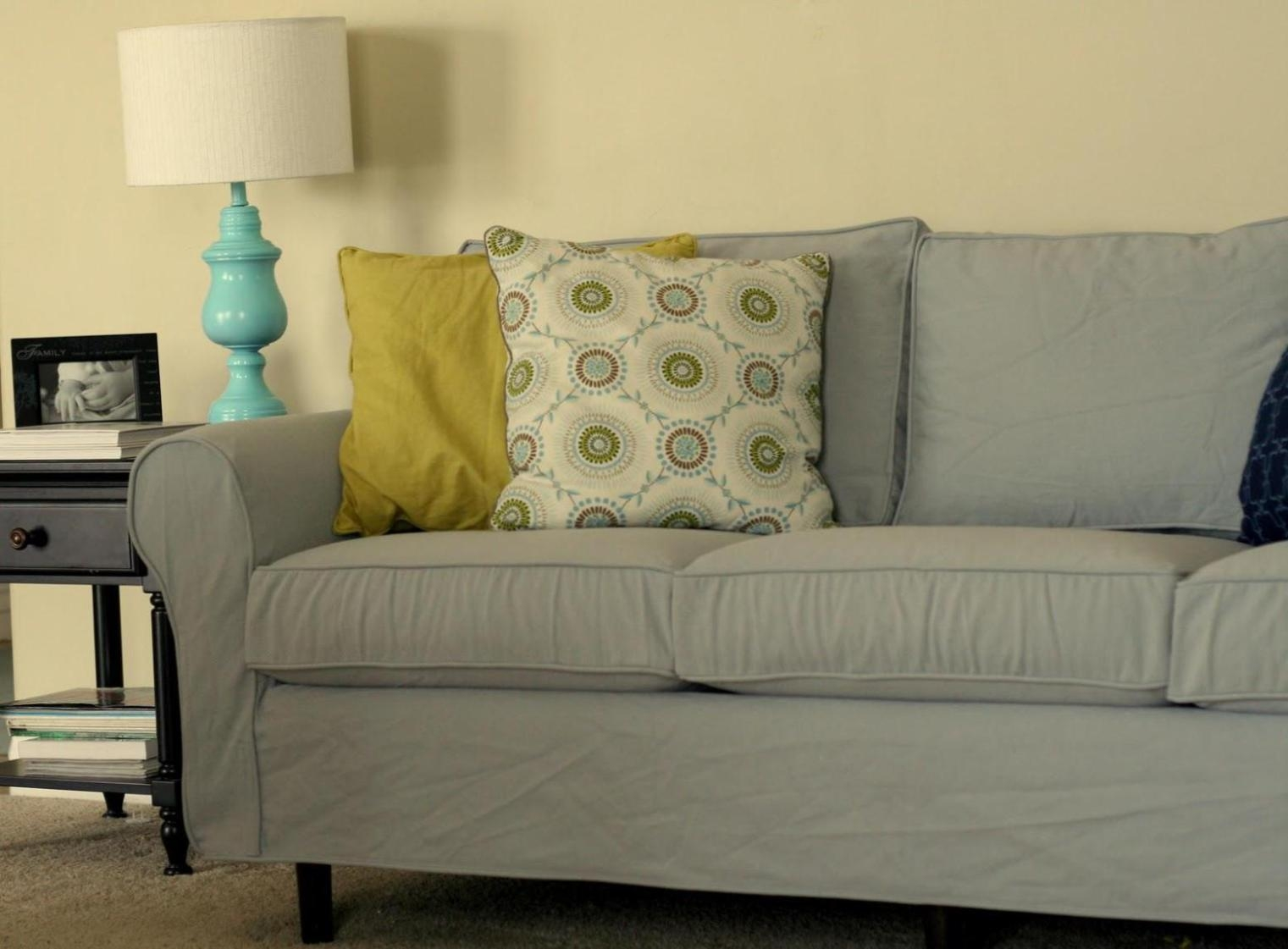 3 Piece Loveseat Slipcover : Doherty House – Contemporary Loveseat With 3 Piece Slipcover Sets (Image 1 of 20)