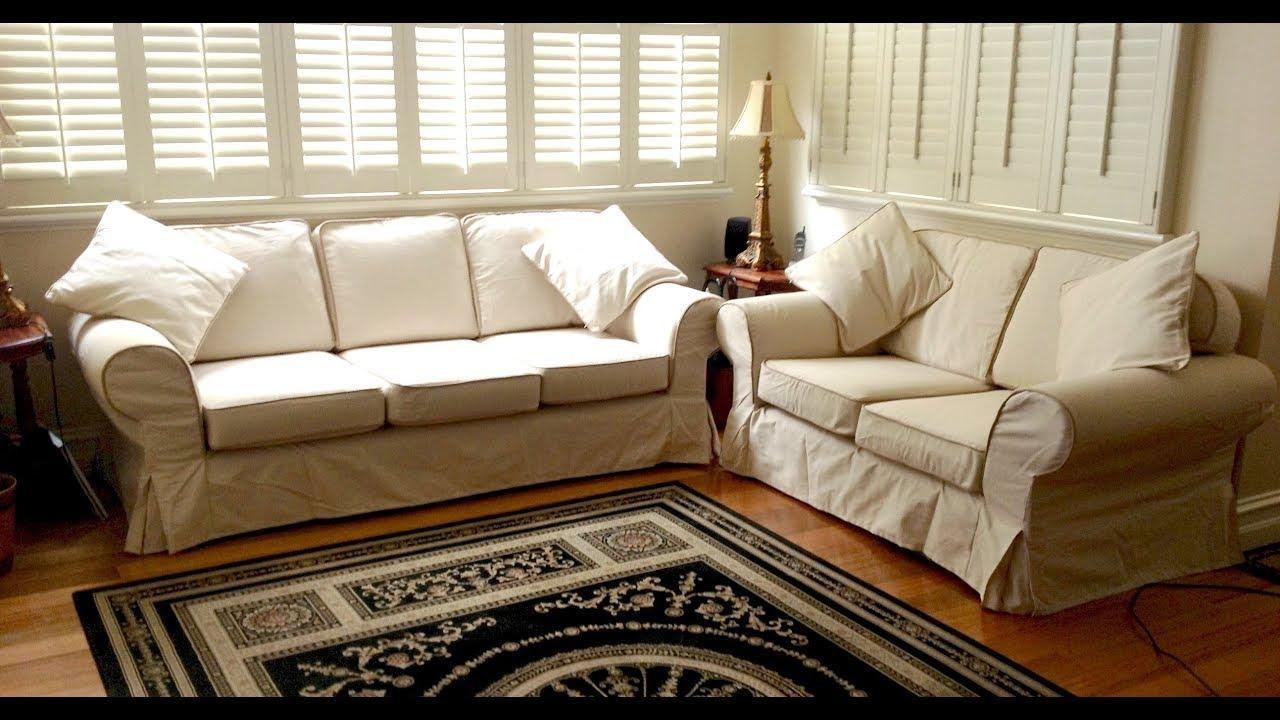 3 Piece Sectional Sofa Slipcovers – Youtube Throughout 3 Piece Sofa Covers (View 11 of 20)