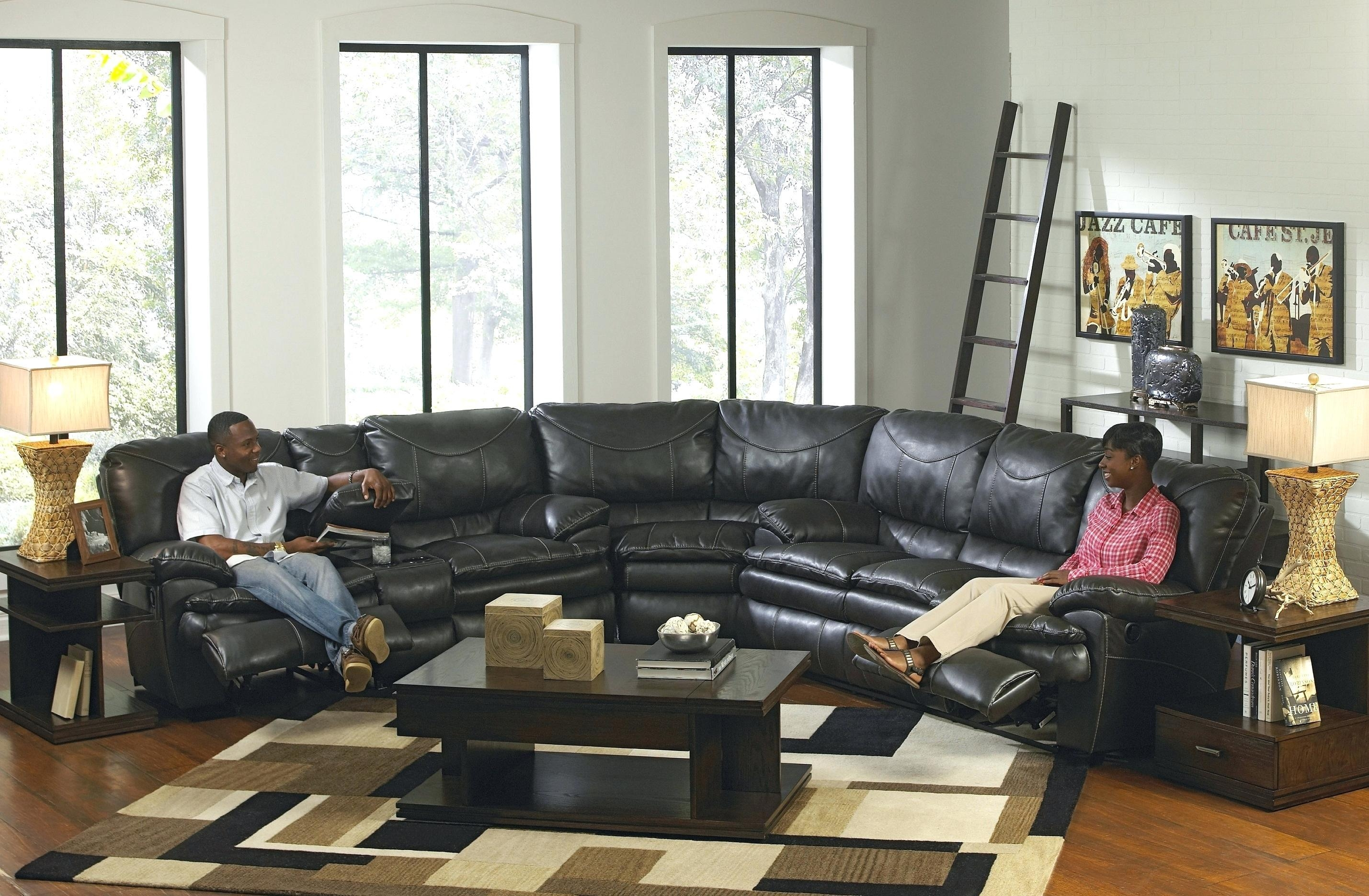 3 Seater Recliner Leather Sofa Gallery Of Stunning Sectional With within Berkline Sofa Recliner