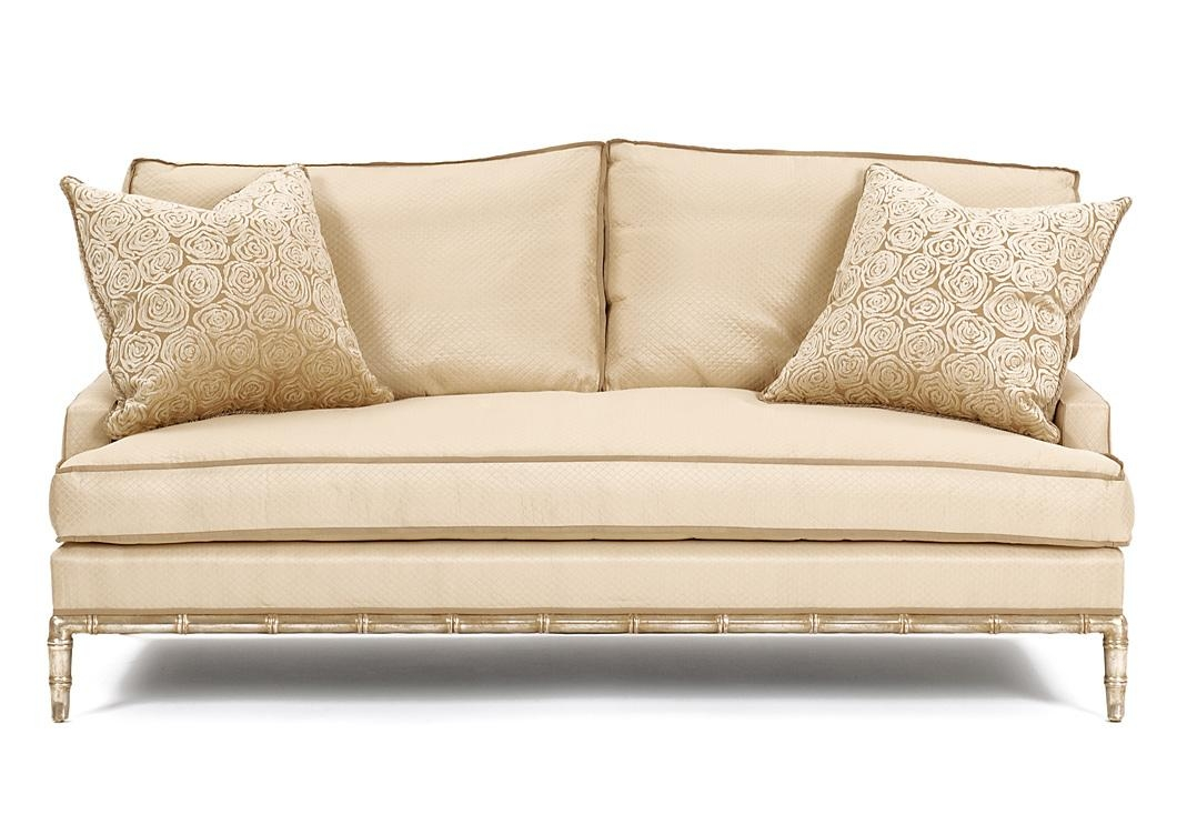 3154-84 Bamboo Sofa - Nancy Corzine with regard to Bamboo Sofas