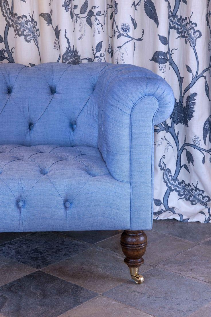321 Best Fabric Images On Pinterest | Home, Armchair And Blue Chairs Inside Chintz Fabric Sofas (Image 4 of 20)