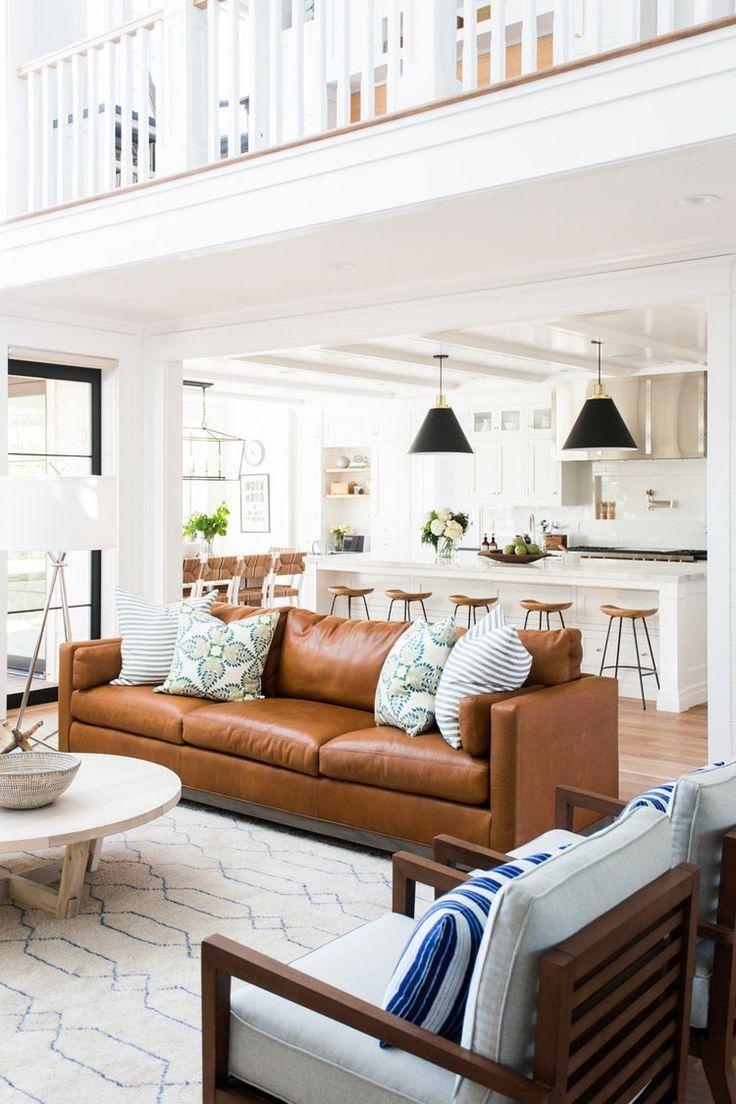 343 Best Open Floor Plan Decorating Images On Pinterest | Living intended for Sofas For Kitchen Diner