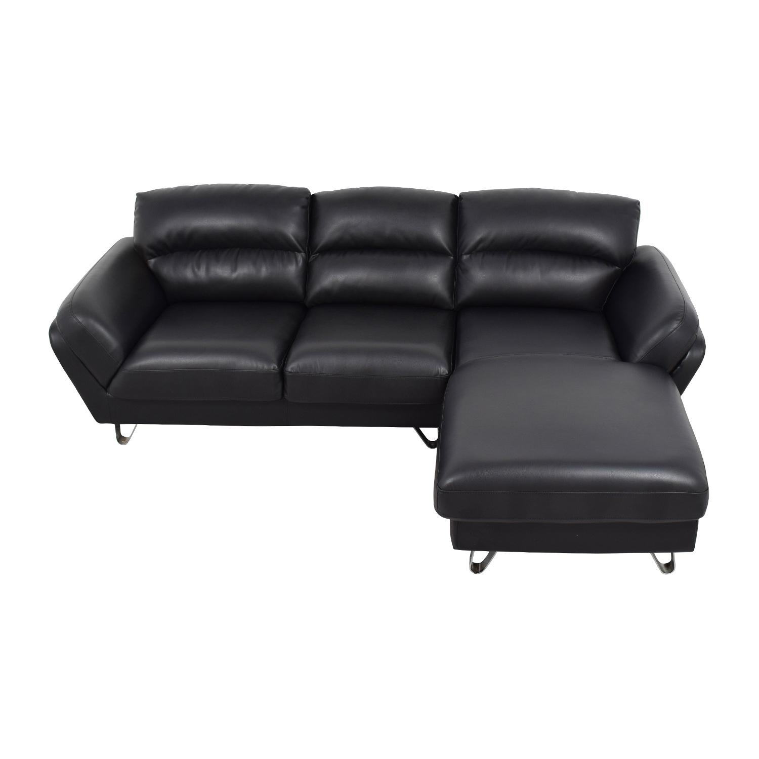 37% Off - Macy's Radley 3-Piece Fabric Chaise Sectional Sofa / Sofas with Used Sectionals
