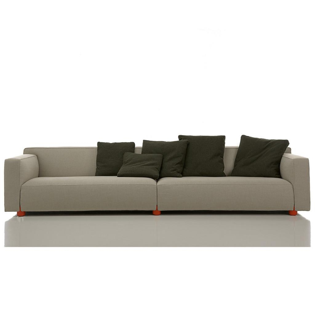 4 Seater Sofa For Large And Trendy Living Room With Regard To 4 Seater Sofas (Image 3 of 20)