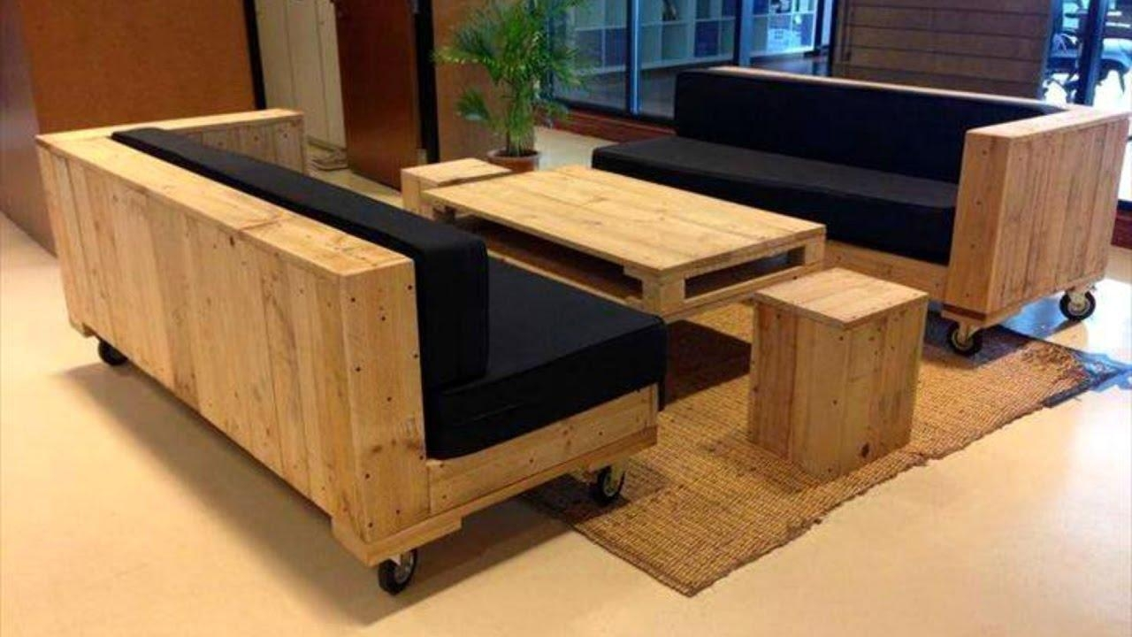40 Creative Diy Pallet Furniture Ideas 2017 – Cheap Recycled Inside Pallet Sofas (Image 4 of 20)