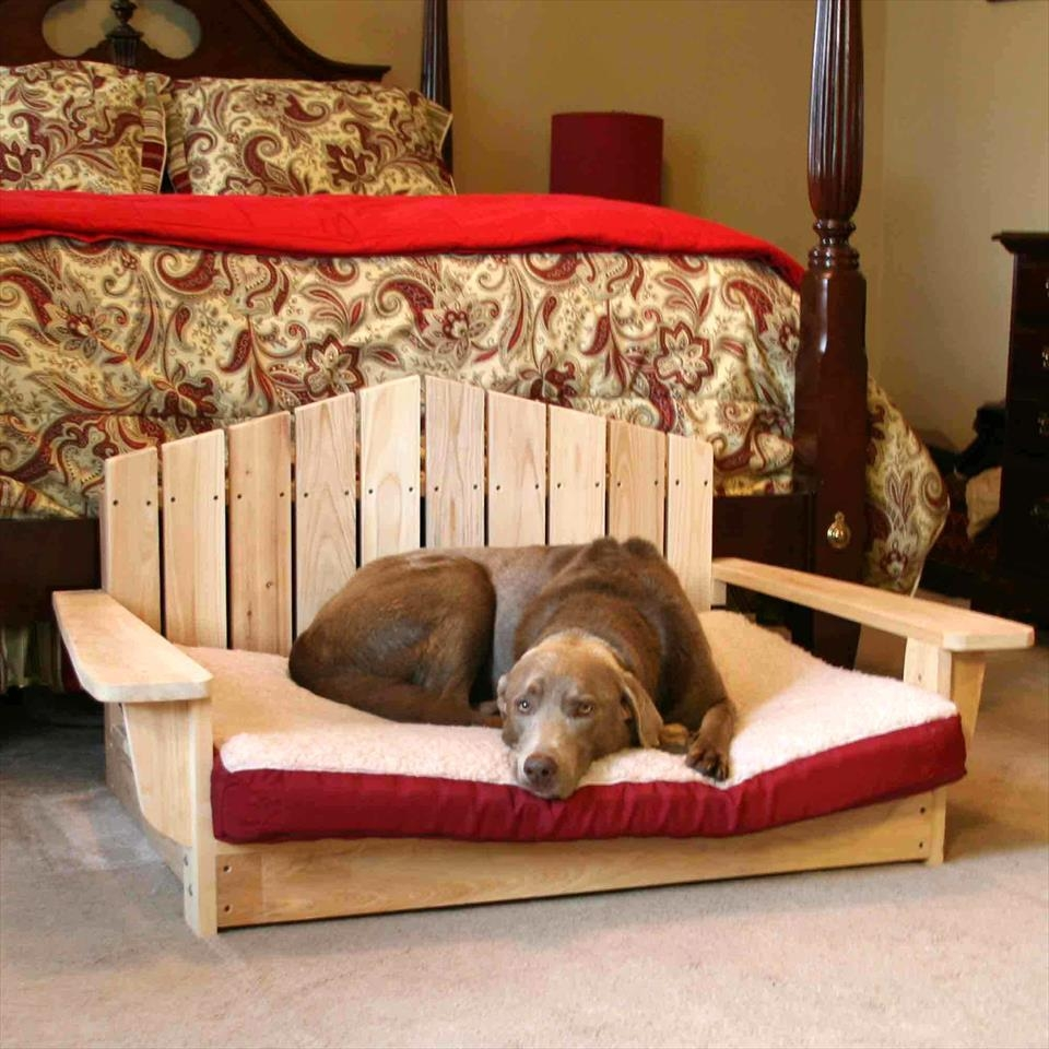 40+ Diy Pallet Dog Bed Ideas – Don't Know Which I Love More Regarding Dog Sofas And Chairs (View 11 of 20)