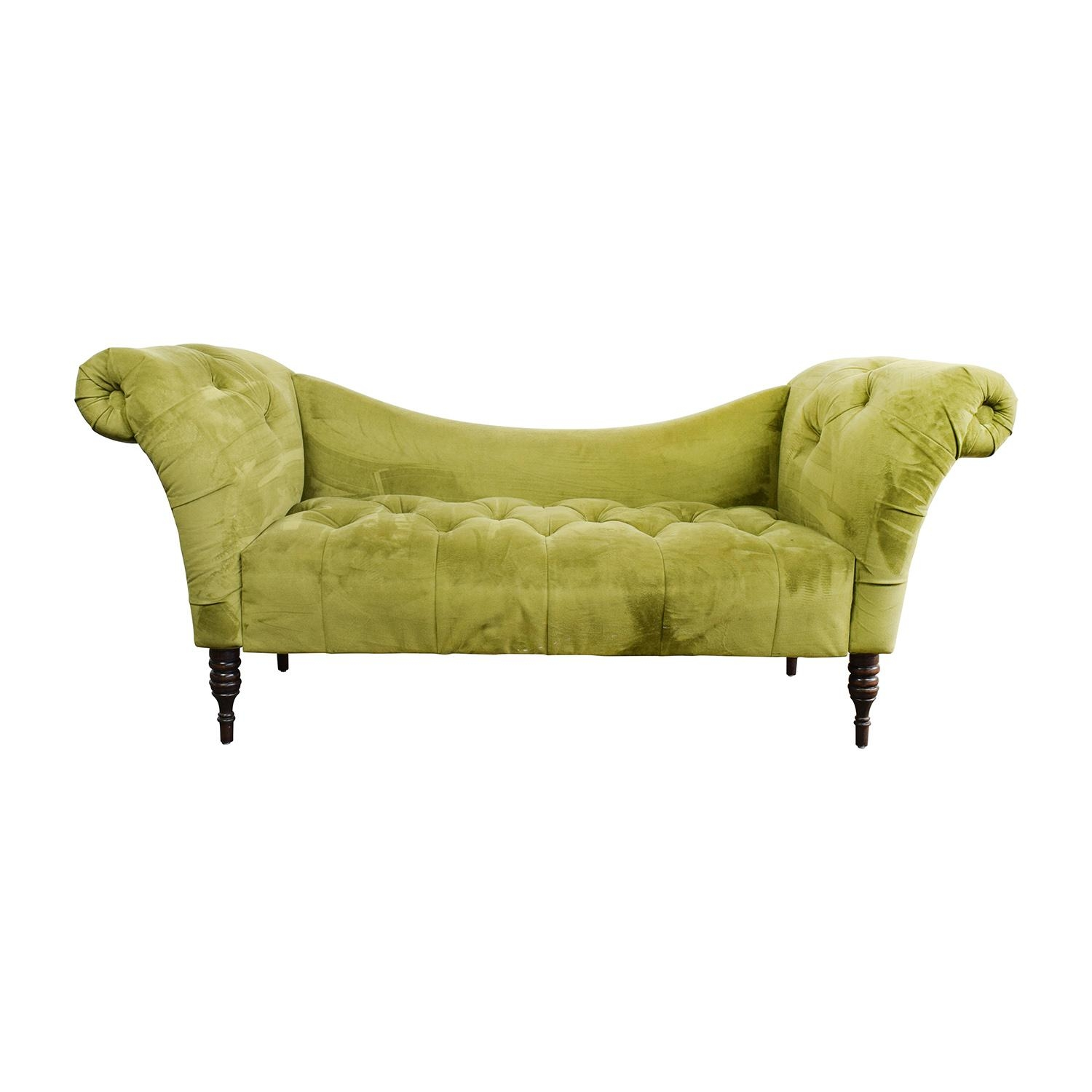 48% Off - Ashley Furniture Ashley Furniture Gray Fabric Sofa / Sofas inside Antoinette Sofas