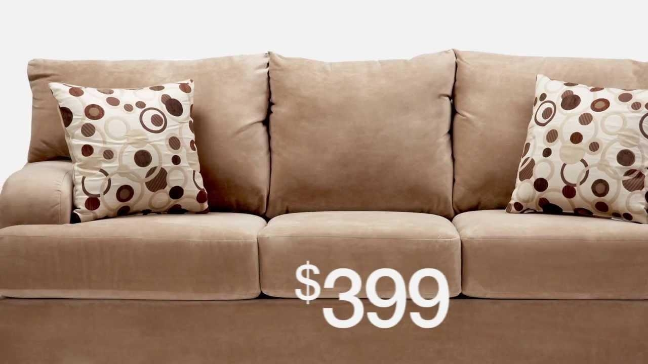 4Th Of July Sale: Slumberland Furniture – Youtube Inside Slumberland Couches (Image 1 of 20)