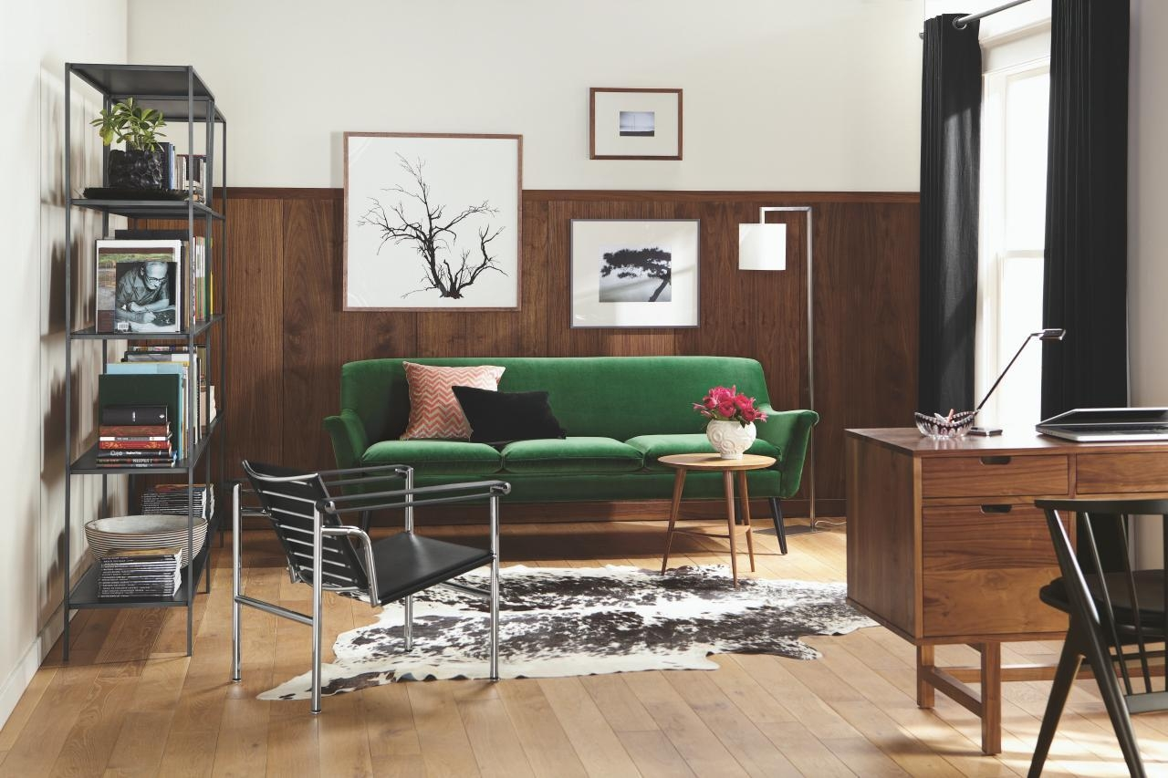 5 Apartment Sized Sofas That Are Lifesavers | Hgtv's Decorating Intended For Narrow Depth Sofas (Image 1 of 20)