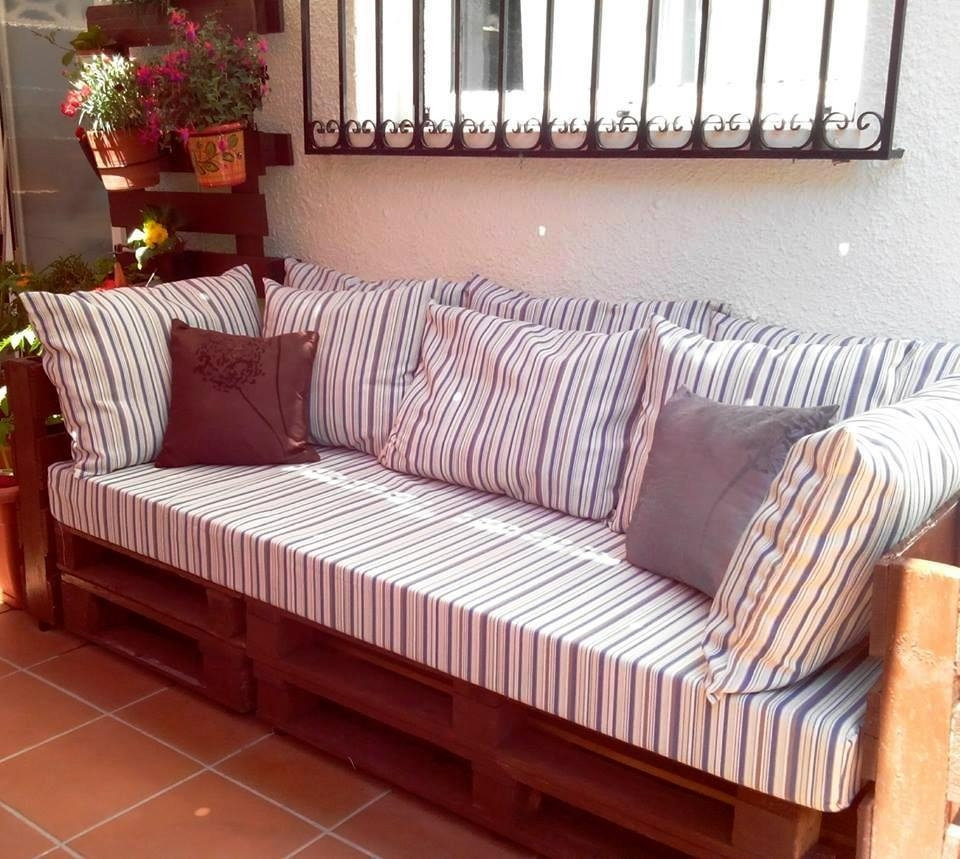 50 Ultimate Pallet Outdoor Furniture Ideas Within Pallet Sofas (View 11 of 20)