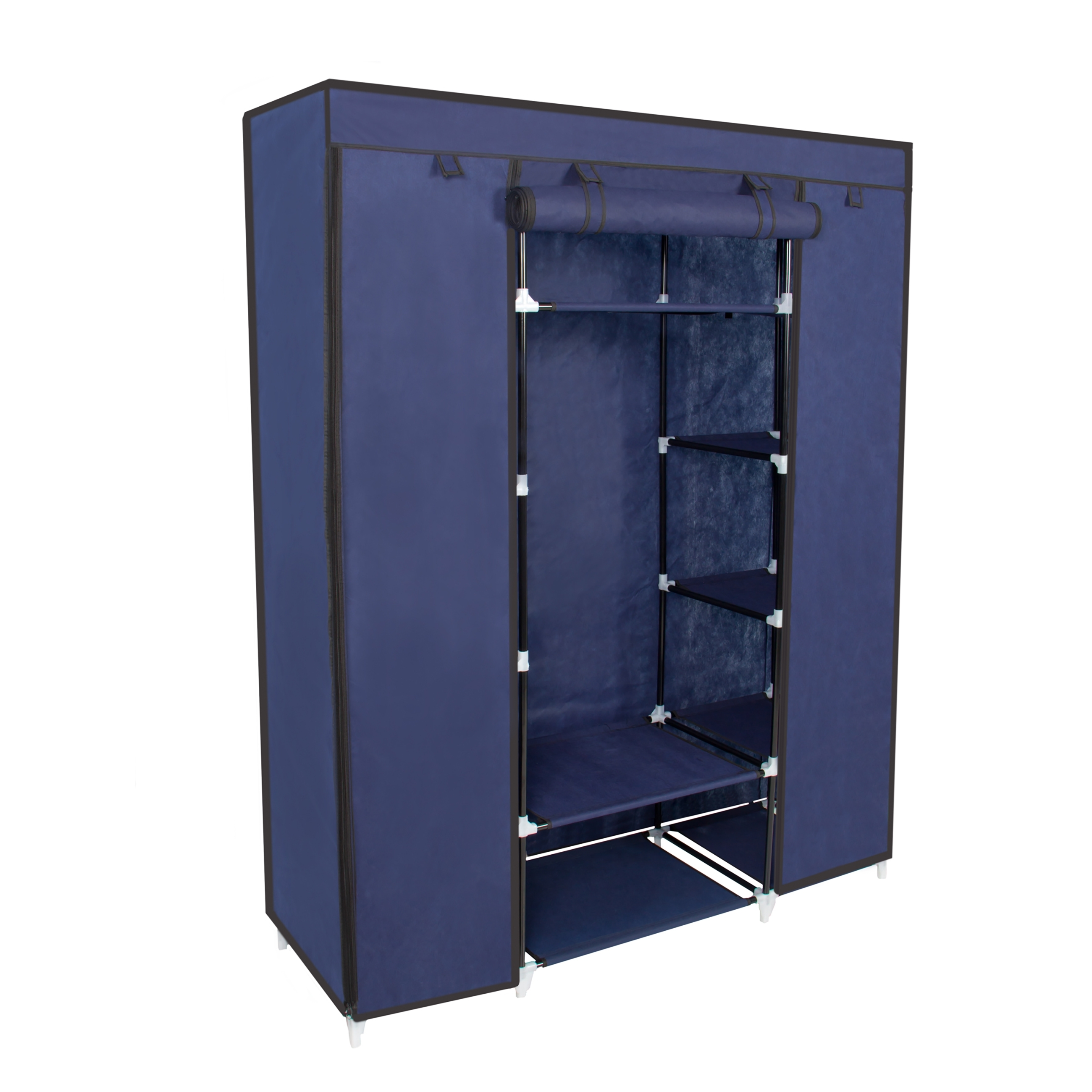 53    Portable Closet Storage Organizer Wardrobe Clothes Rack inside On the Go With a Portable Wardrobe Closet