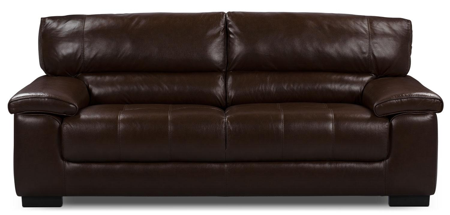 54 Chateau D Ax Leather Sofa, Sofa Leather Gallery Italian Leather within The Brick Leather Sofa