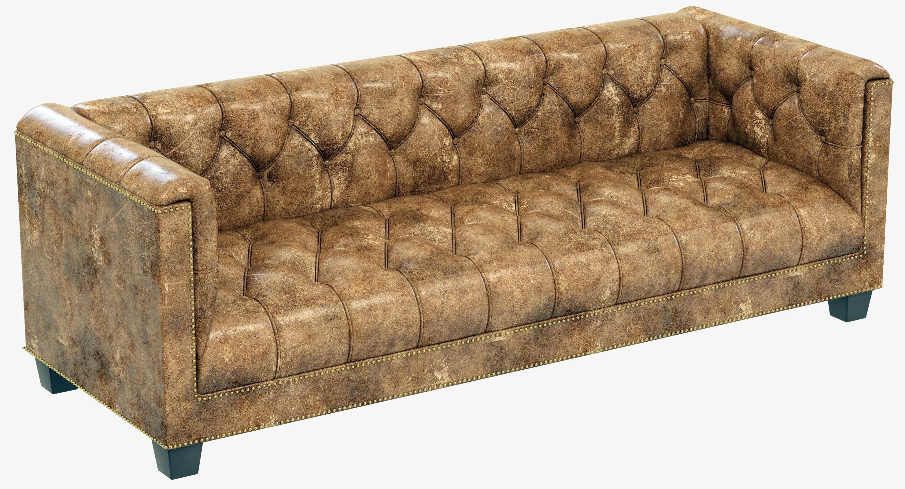 6 39 Savoy Sofa 3D Model Restoration Hardware Savoy Modern Sofa In Savoy Leather Sofas (Image 1 of 20)