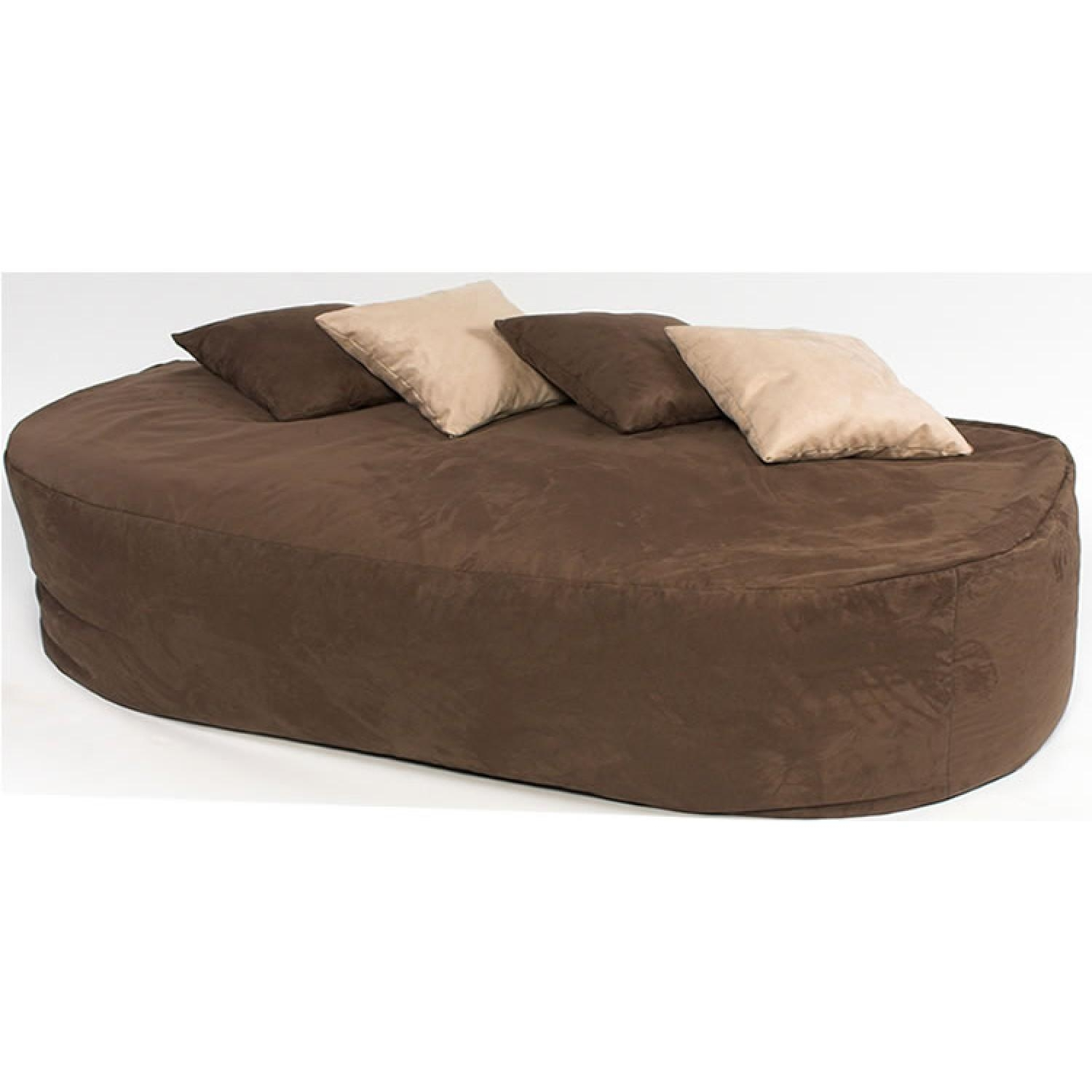 6 Ft Bed Sofa Faux Suede for Faux Suede Sofa Bed
