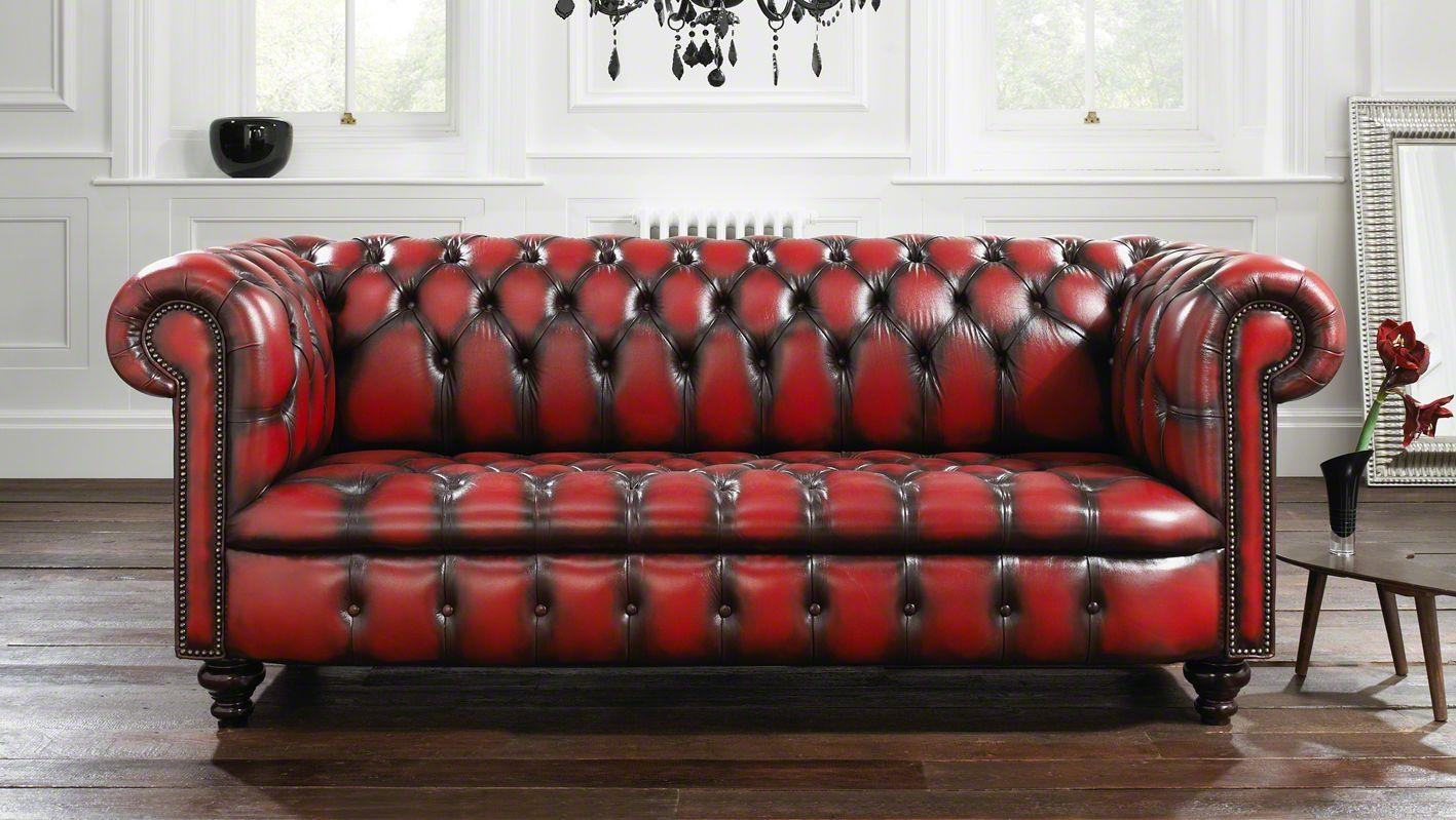 62 Best Sofas Images On Pinterest | Sofas, Chesterfield Sofa And 3 within Red Chesterfield Chairs