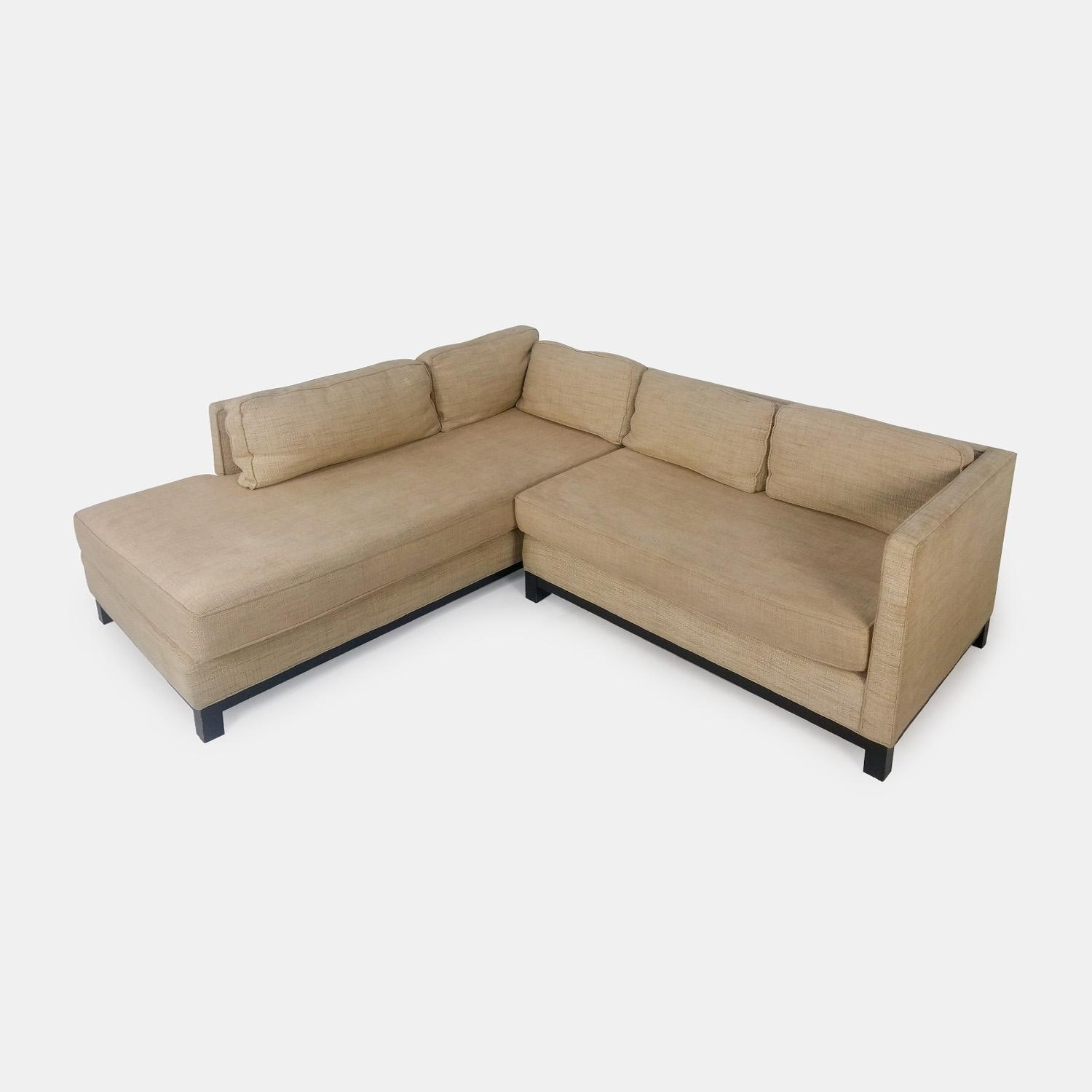 62% Off – Mitchell Gold And Bob Williams Mitchell Gold & Bob Throughout Gold Sectional Sofa (View 8 of 15)
