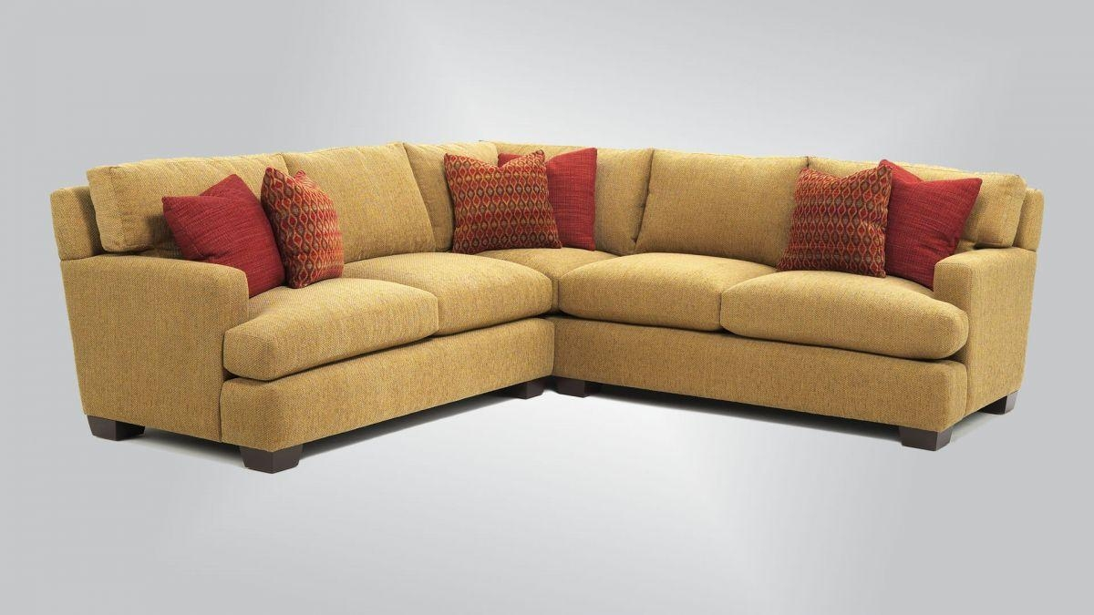 629 - Sectional With 447 Arm - Burton James with regard to Burton James Sectional Sofas