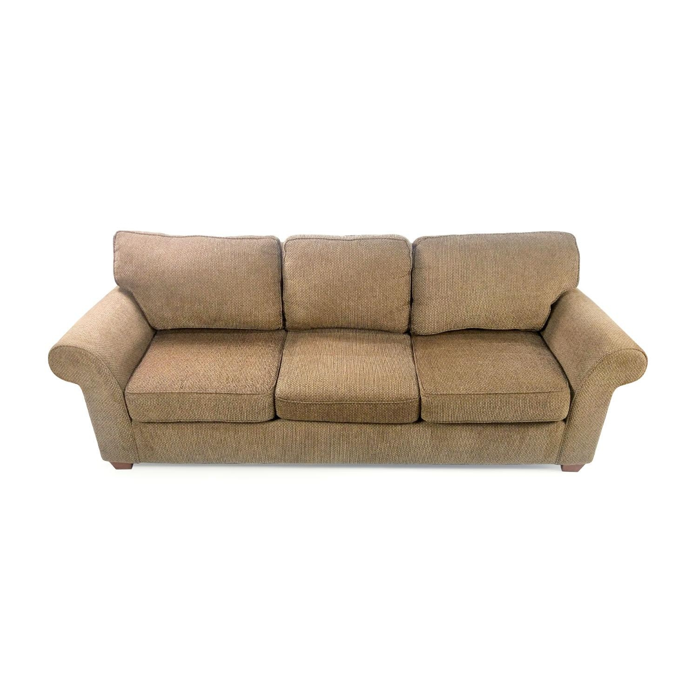 63% Off – Bloomingdale's Bloomingdale's Large Sofa / Sofas Regarding Bloomingdales Sofas (Image 7 of 20)