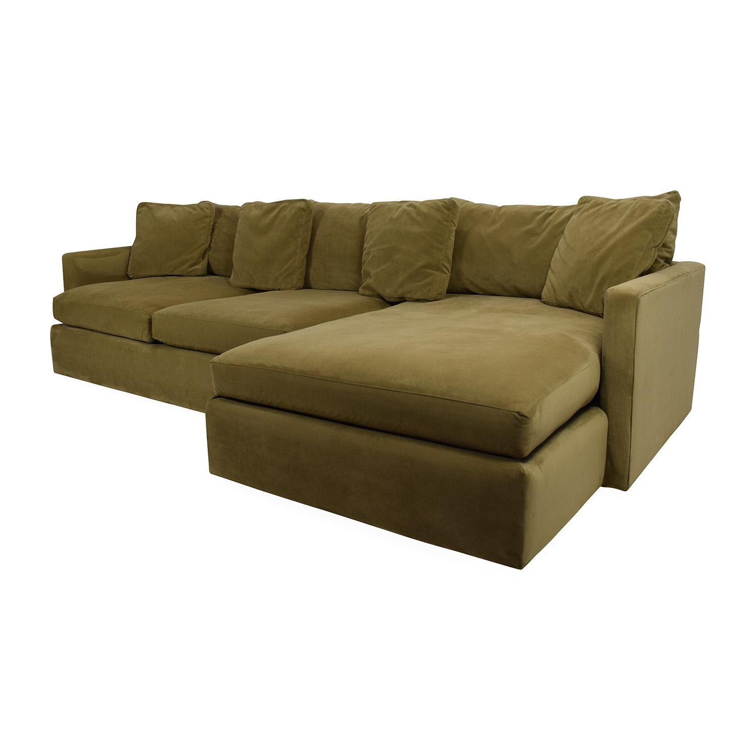 65% Off - Crate And Barrel Crate And Barrel Lounge Ii Sectional intended for Sectional Crate and Barrel