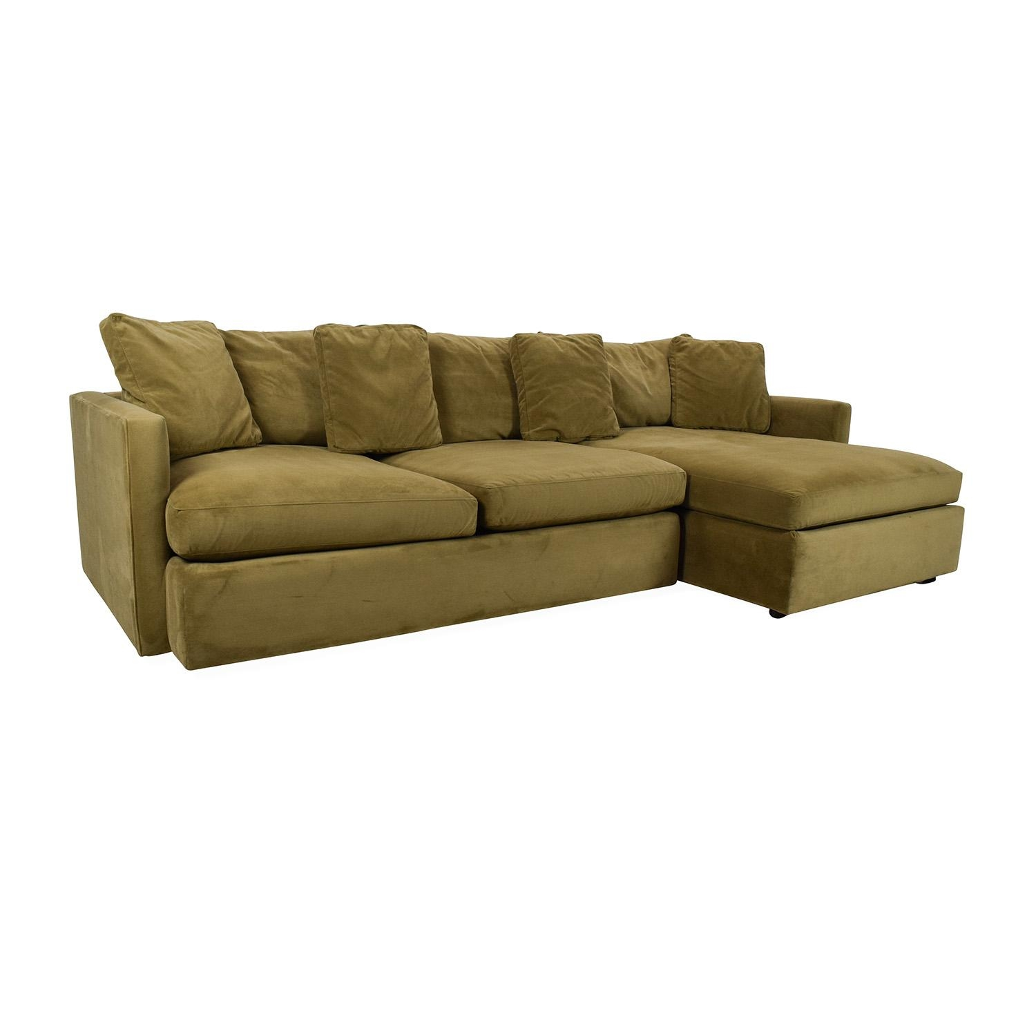 65% Off - Crate And Barrel Crate And Barrel Lounge Ii Sectional with regard to Sectional Crate And Barrel
