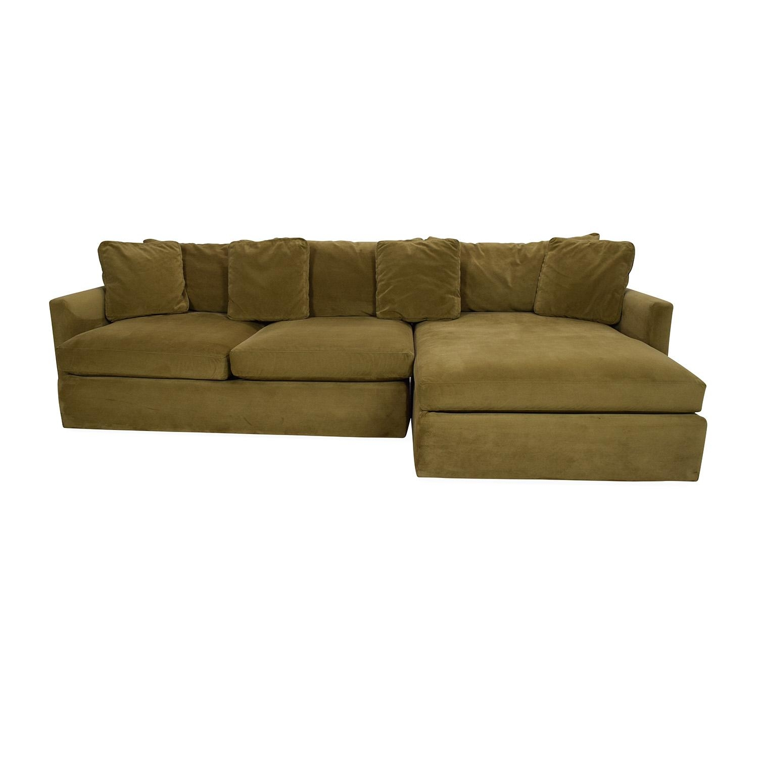 65% Off – Crate And Barrel Crate And Barrel Lounge Ii Sectional With Used Sectionals (View 10 of 20)