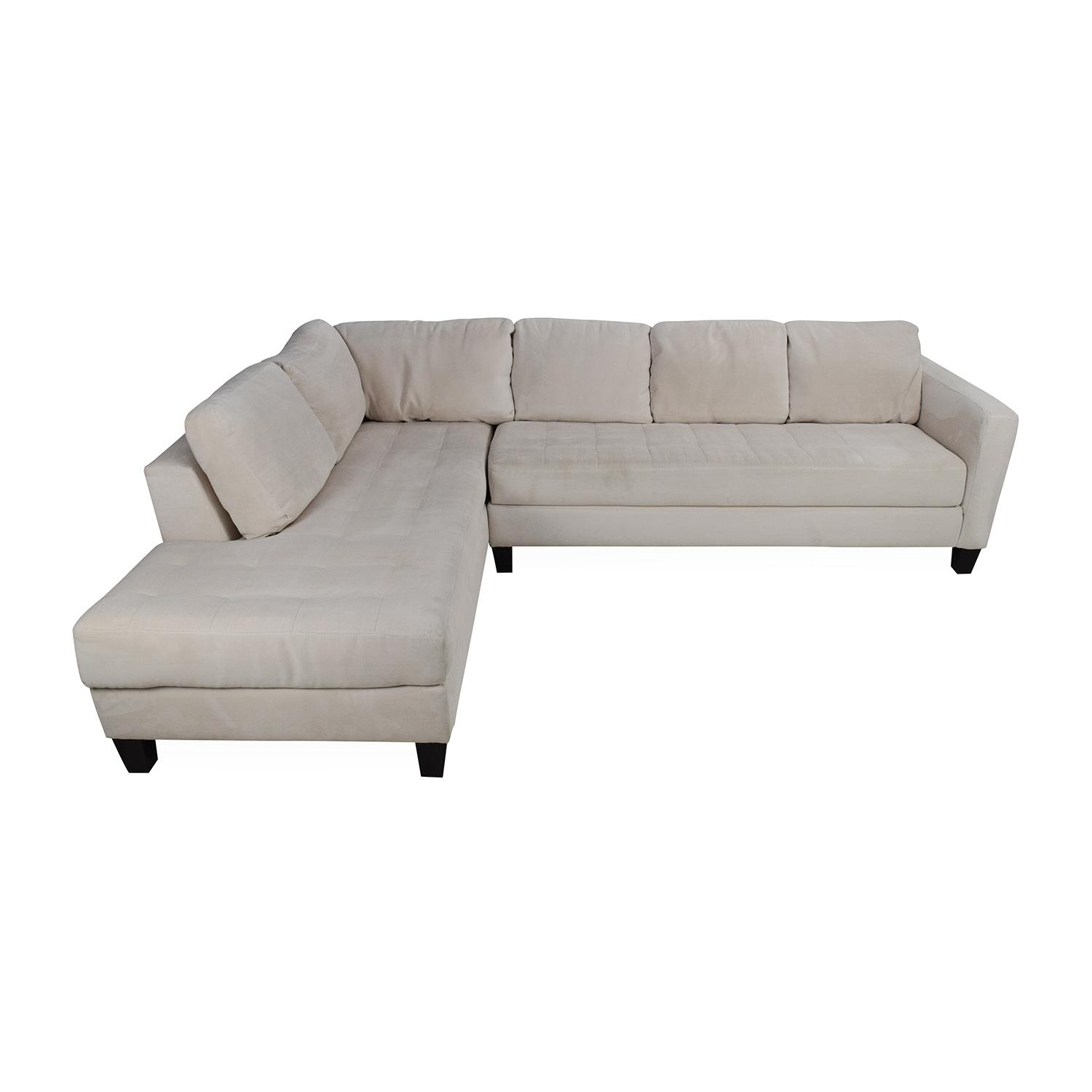 65% Off - Macy's Macy's Milo Fabric Microfiber Sectional / Sofas throughout Macys Sectional