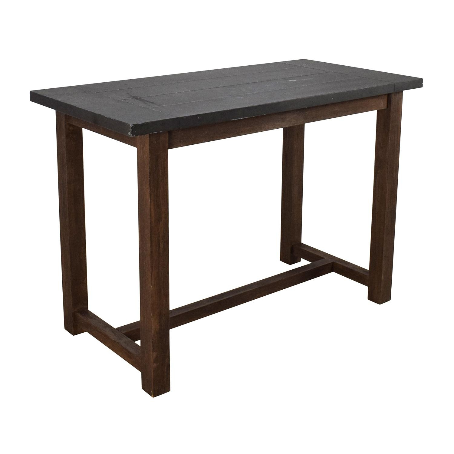 69% Off - Crate And Barrel Crate & Barrel Galvin High Table / Tables throughout Crate And Barrel Sofa Tables